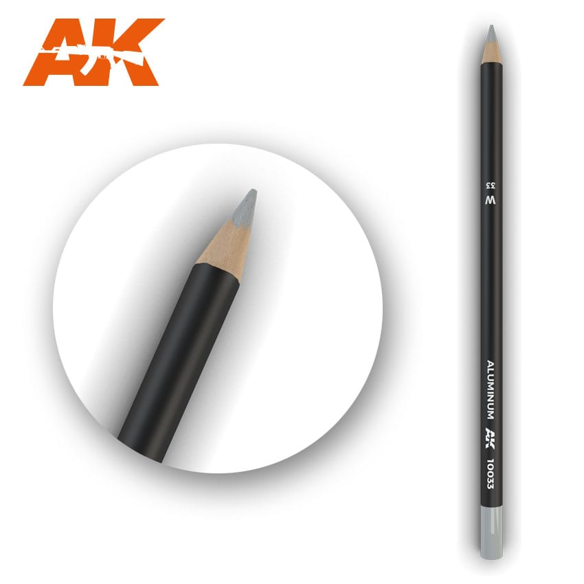 AK Interactive Watercolor Pencil Aluminum (Box - 5 Units)