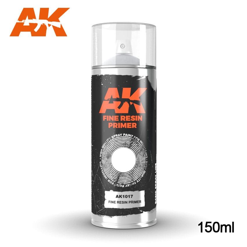 AK Interactive Fine Resin Primer - Spray 150ml