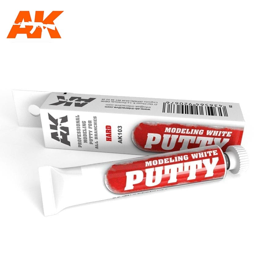 AK Interactive Modeling White Putty 20 ml