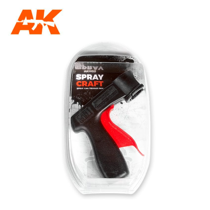 AK Interactive Spray Craft Spray Can Trigger Grip