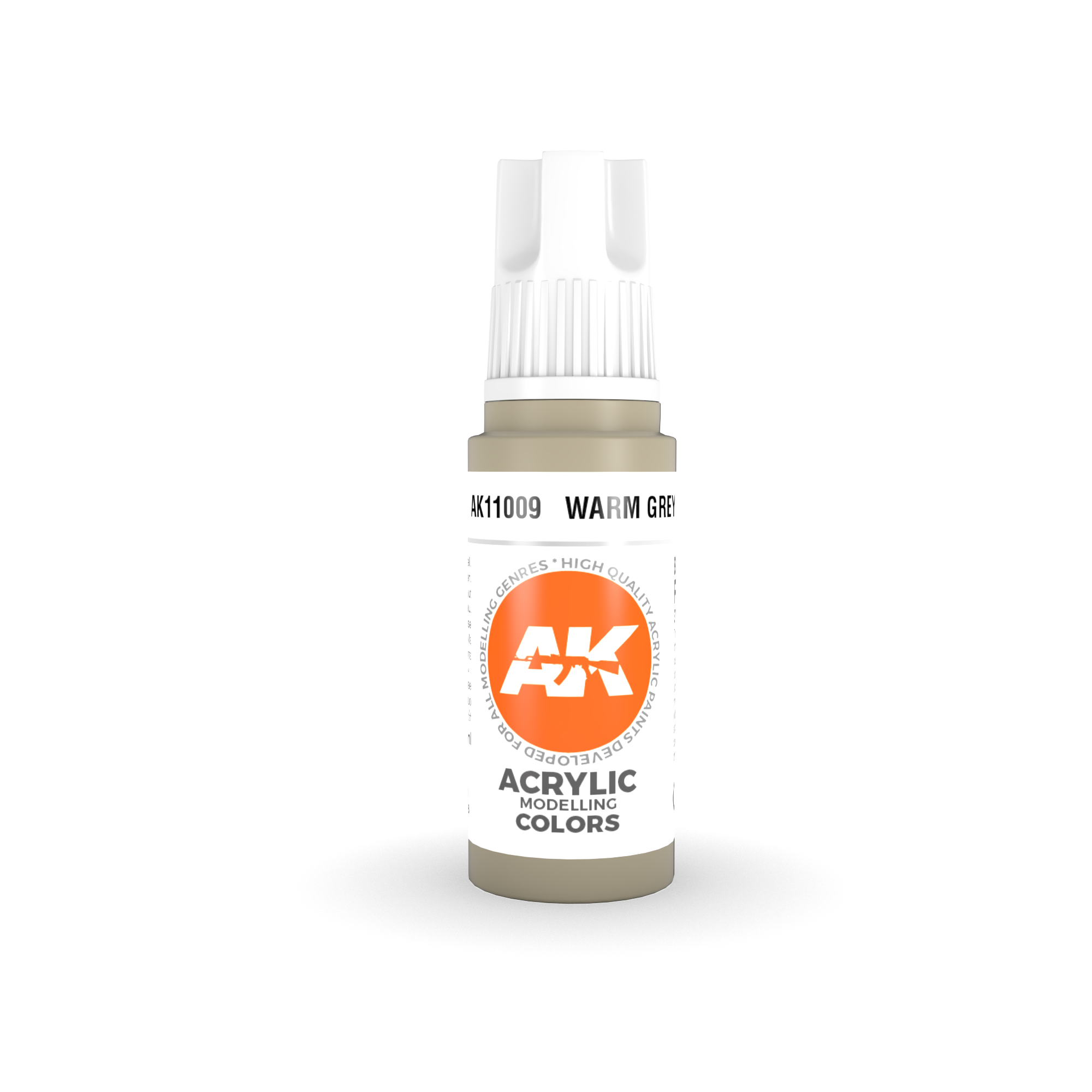 AK Interactive 3rd Gen Acrylic Warm Grey 17ml