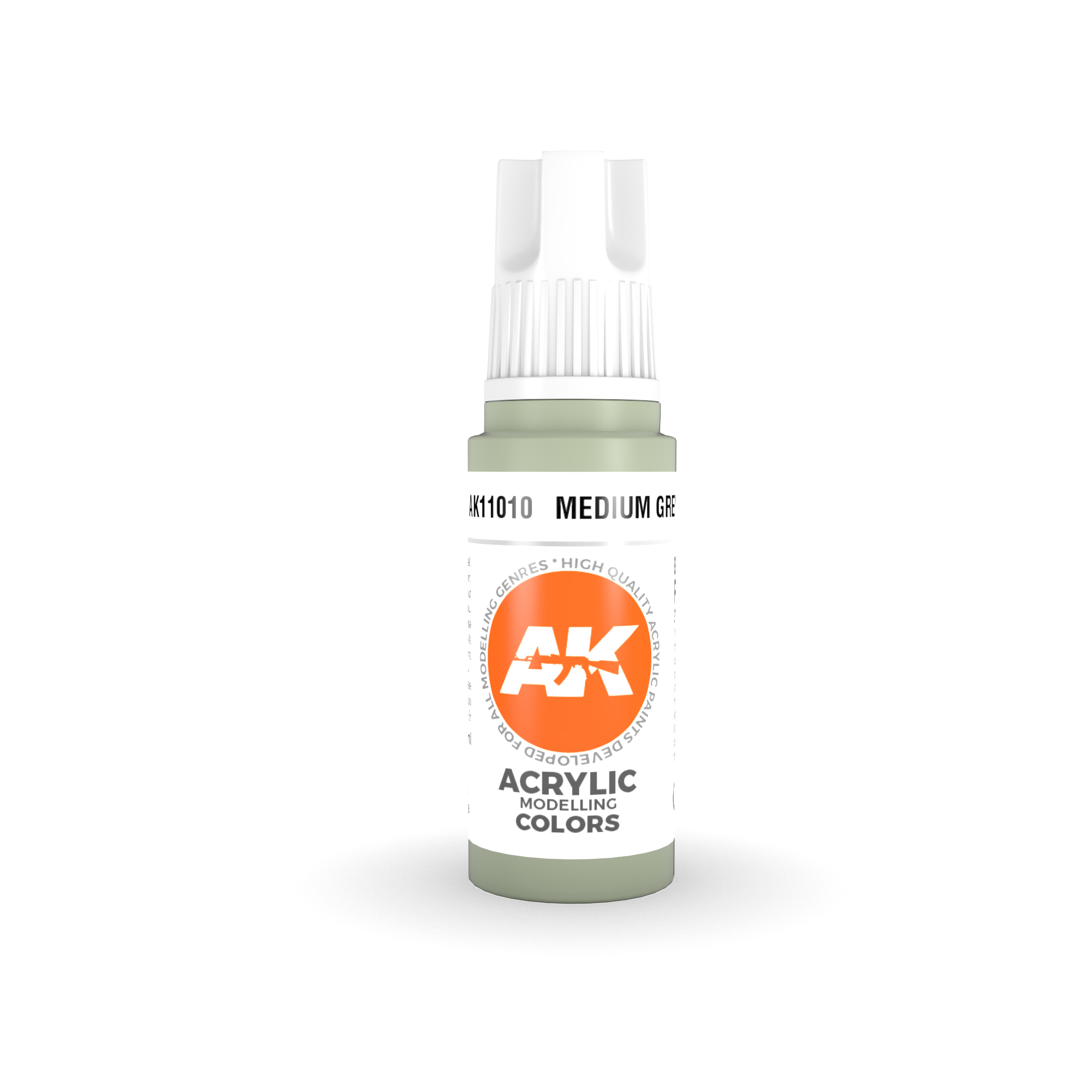 AK Interactive 3rd Gen Acrylic Medium Grey 17ml