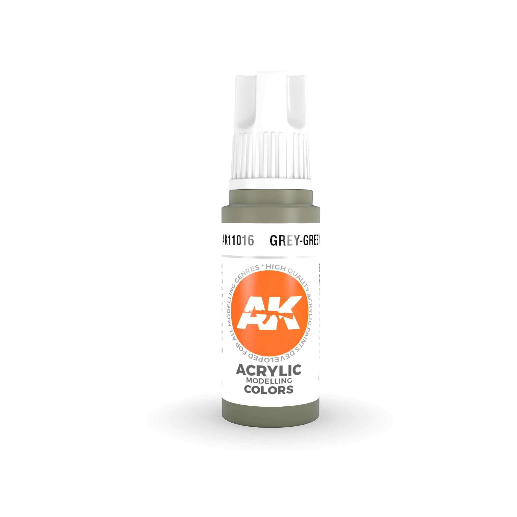 AK Interactive 3rd Gen Acrylic Grey-Green 17ml