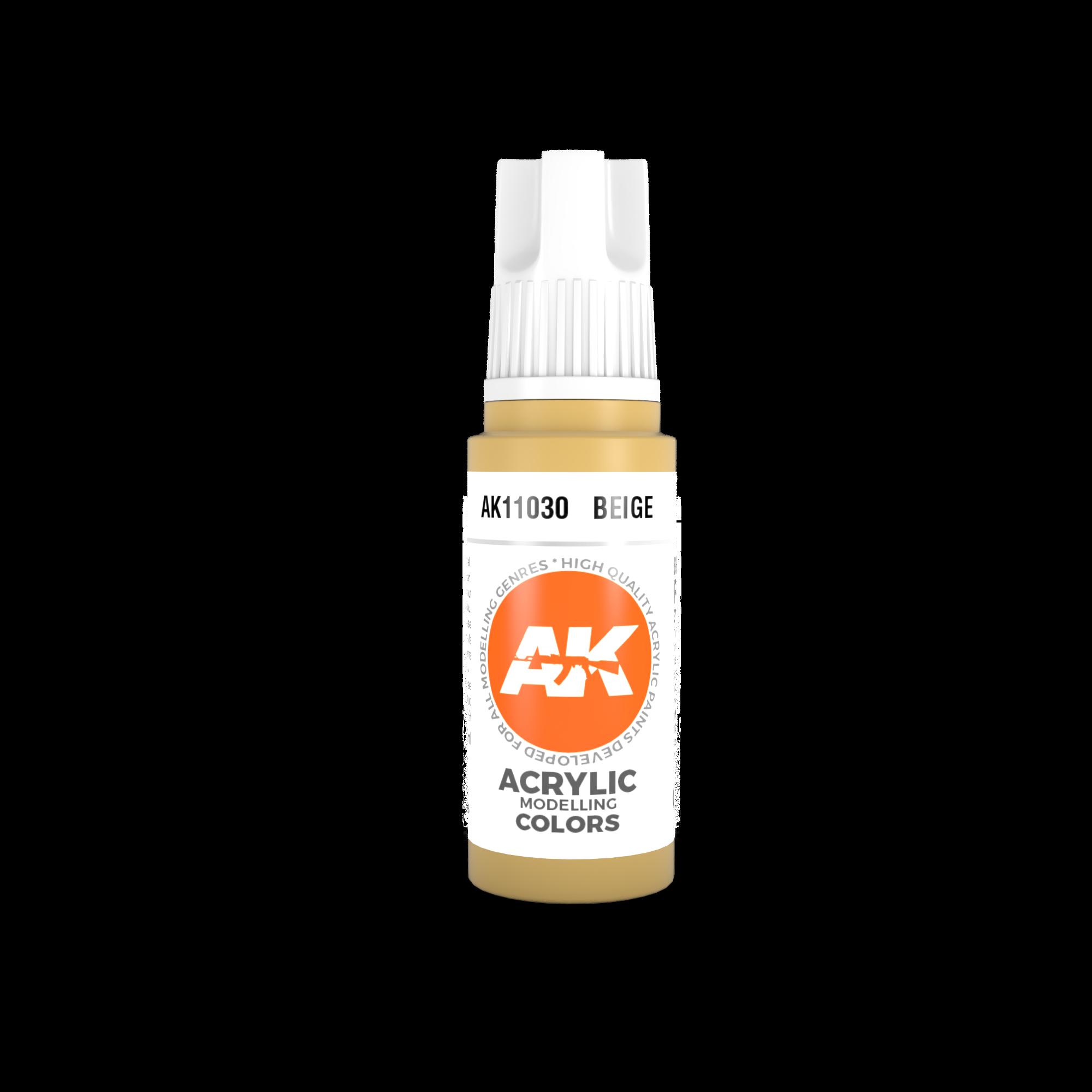 AK Interactive 3rd Gen Acrylic Beige 17ml