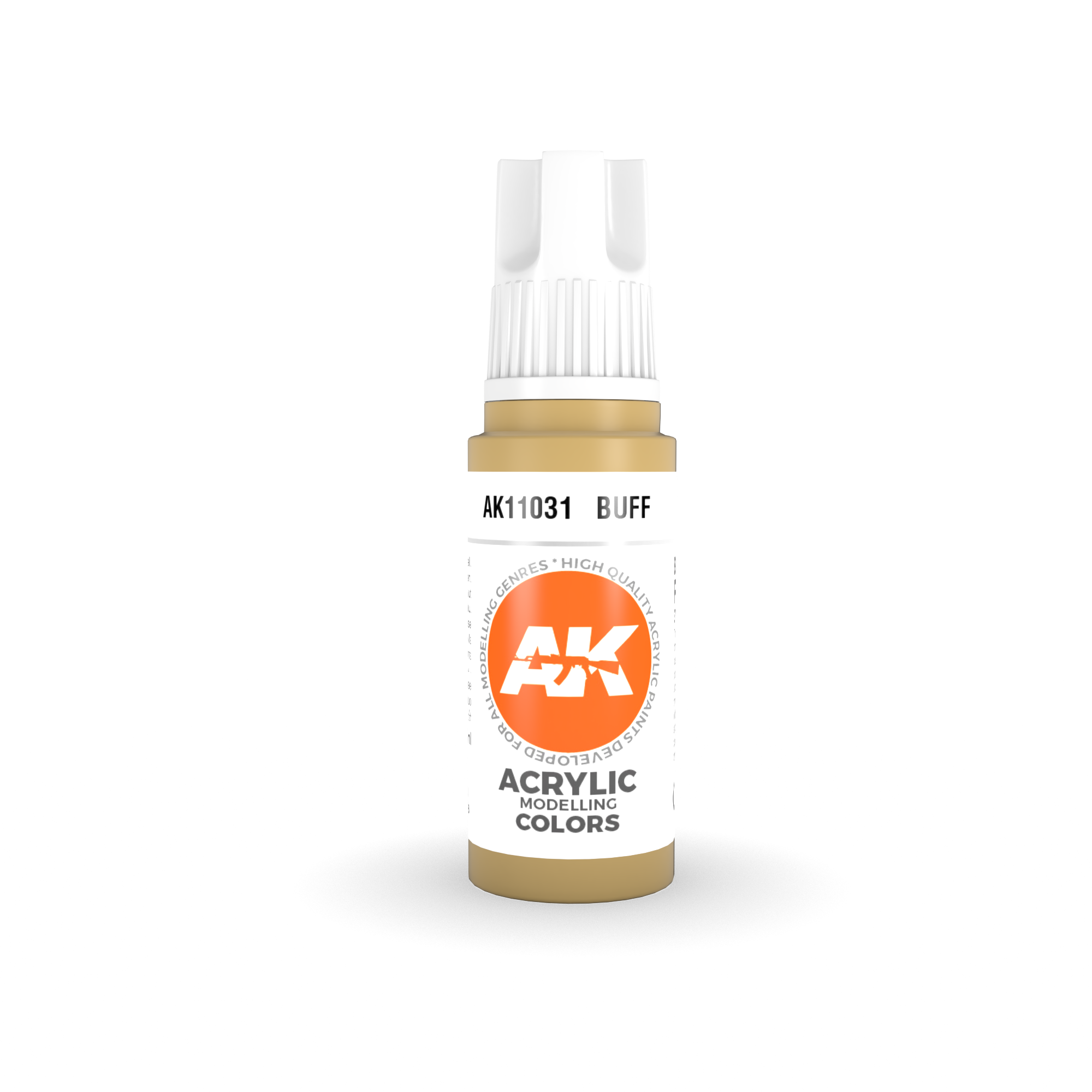 AK Interactive 3rd Gen Acrylic Buff 17ml