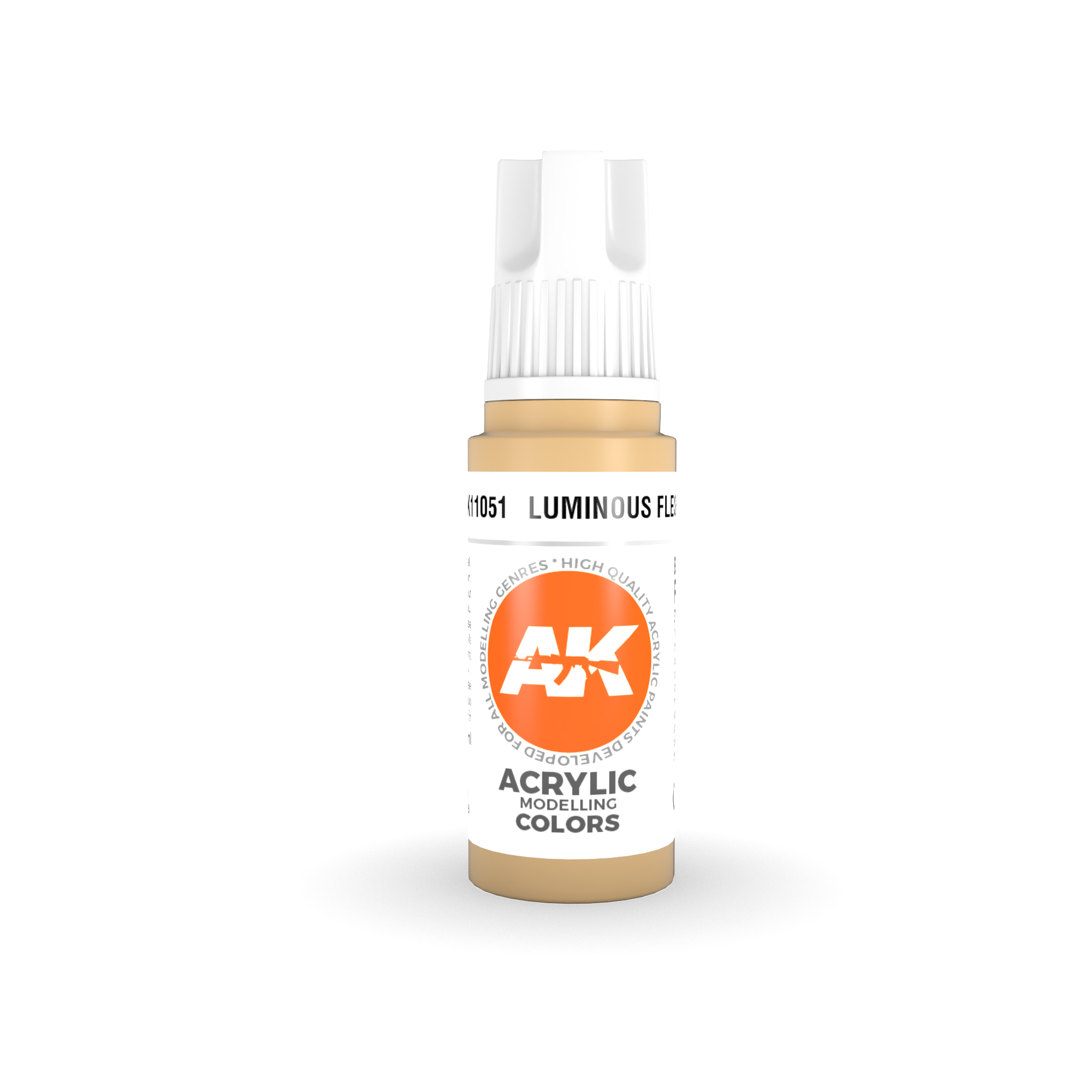 AK Interactive 3rd Gen Acrylic Luminous Flesh 17ml