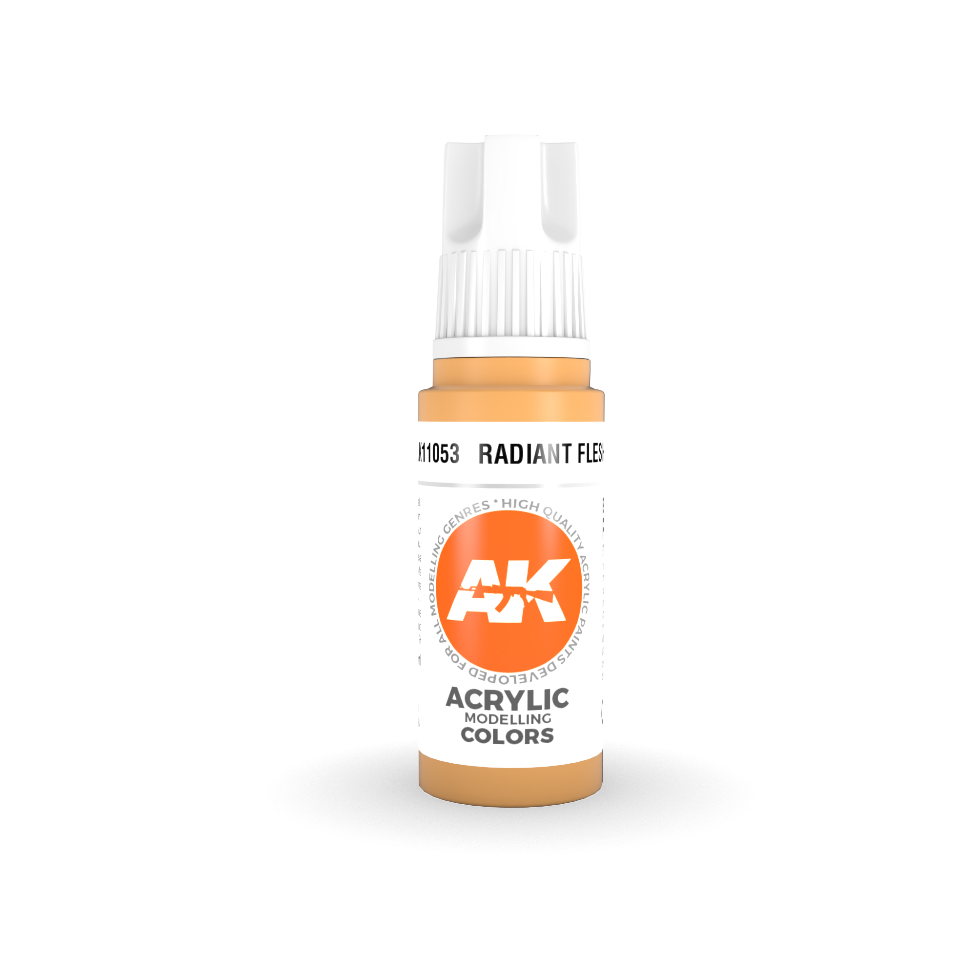 AK Interactive 3rd Gen Acrylic Radiant Flesh 17ml