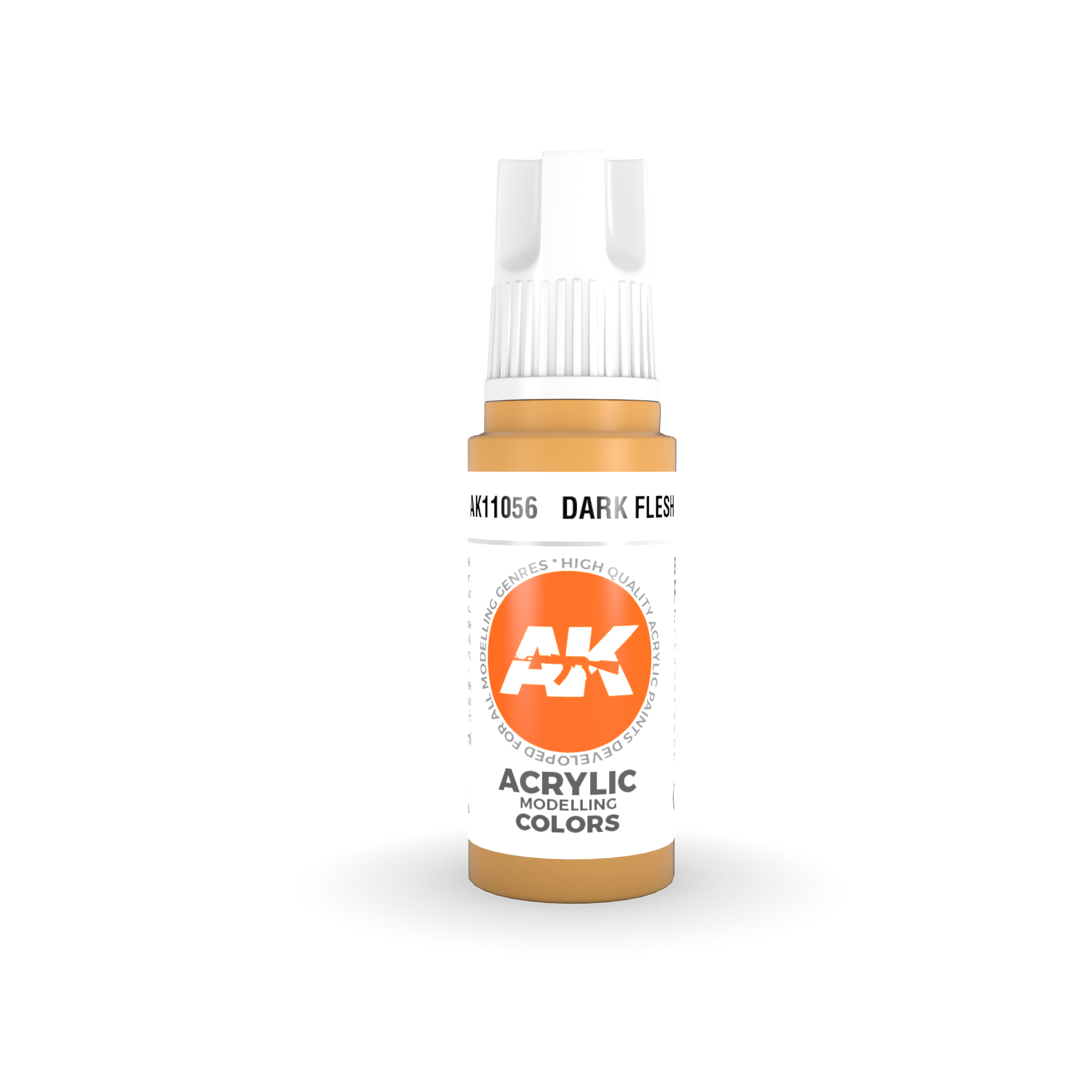 AK Interactive 3rd Gen Acrylic Dark Flesh 17ml