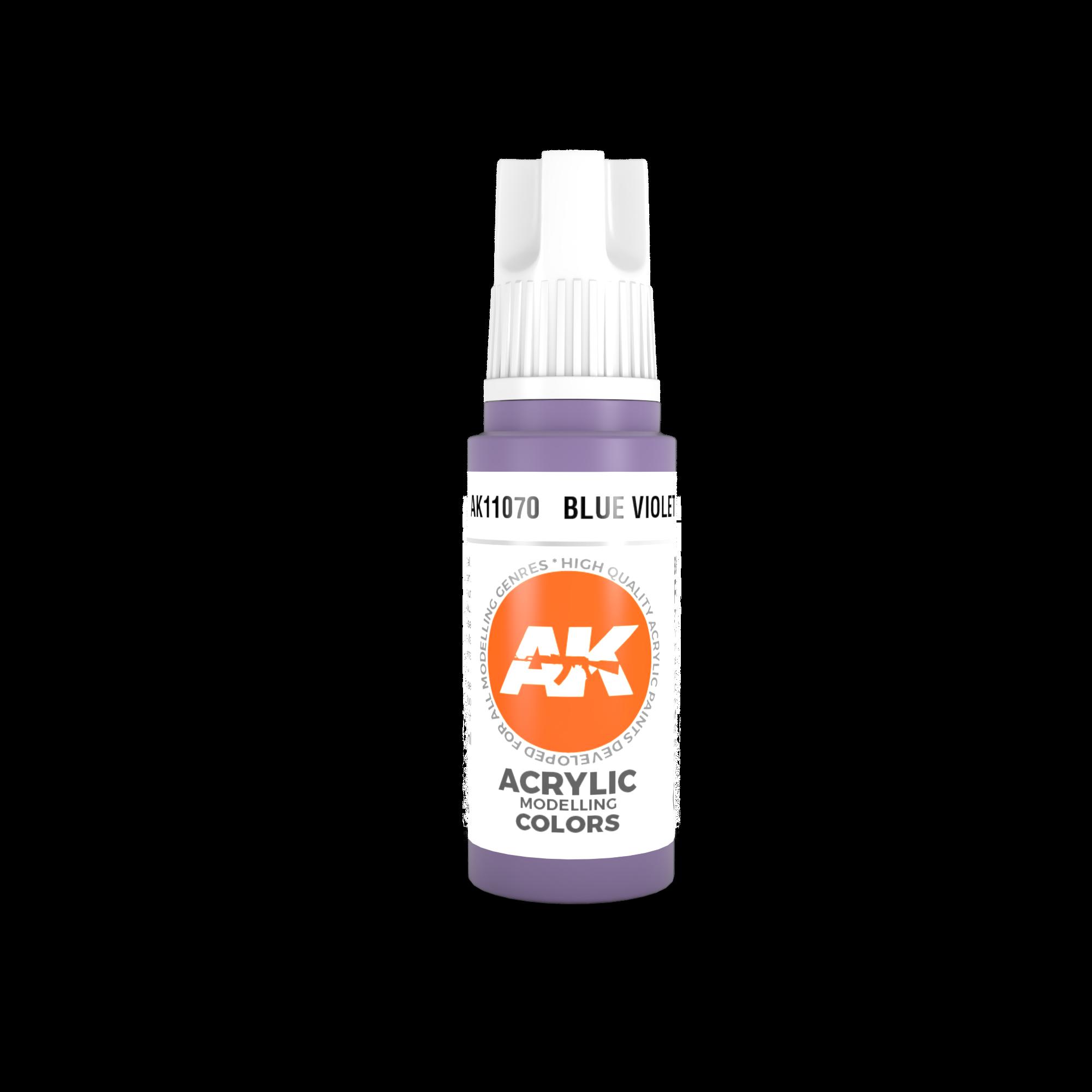 AK Interactive 3rd Gen Acrylic Blue Violet 17ml