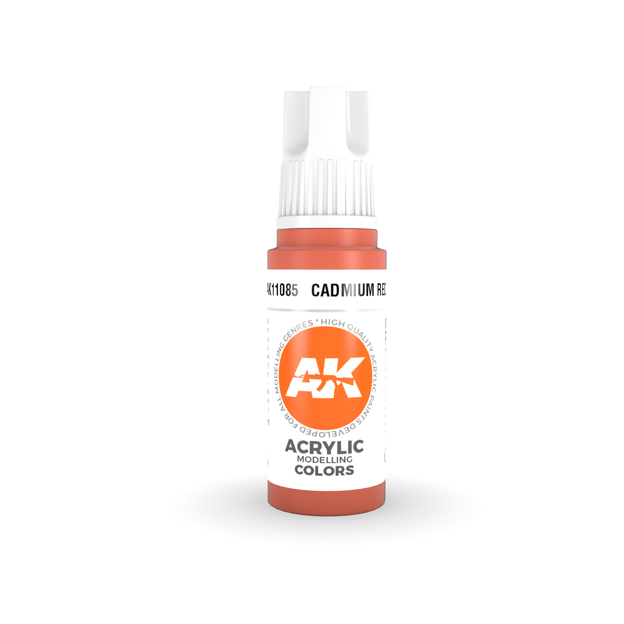 AK Interactive 3rd Gen Acrylic Cadmium Red 17ml