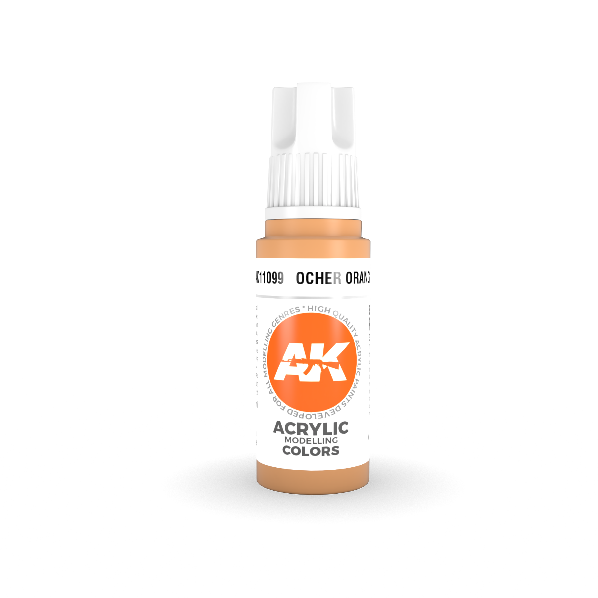 AK Interactive 3rd Gen Acrylic Ocher Orange 17ml