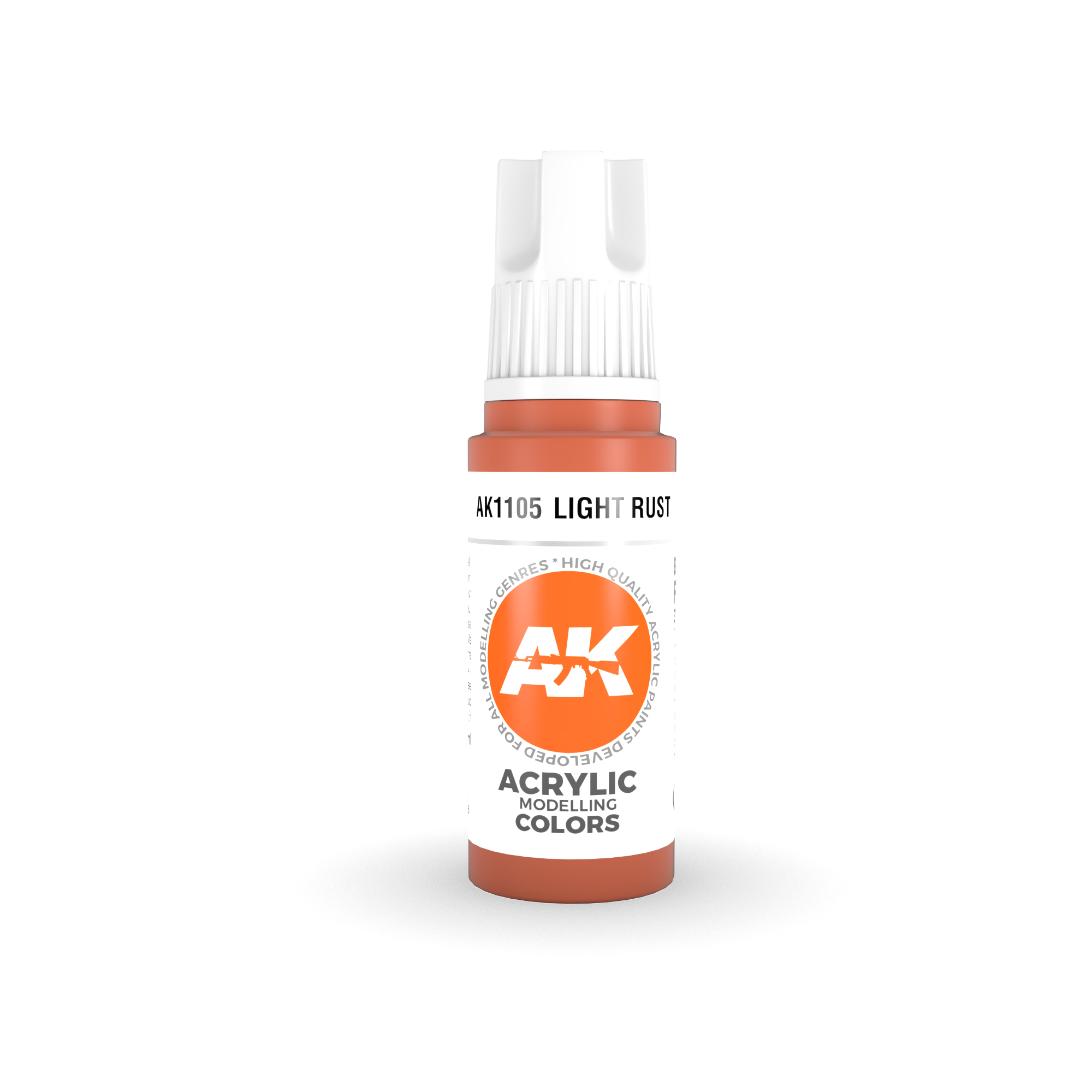 AK Interactive 3rd Gen Acrylic Light Rust 17ml