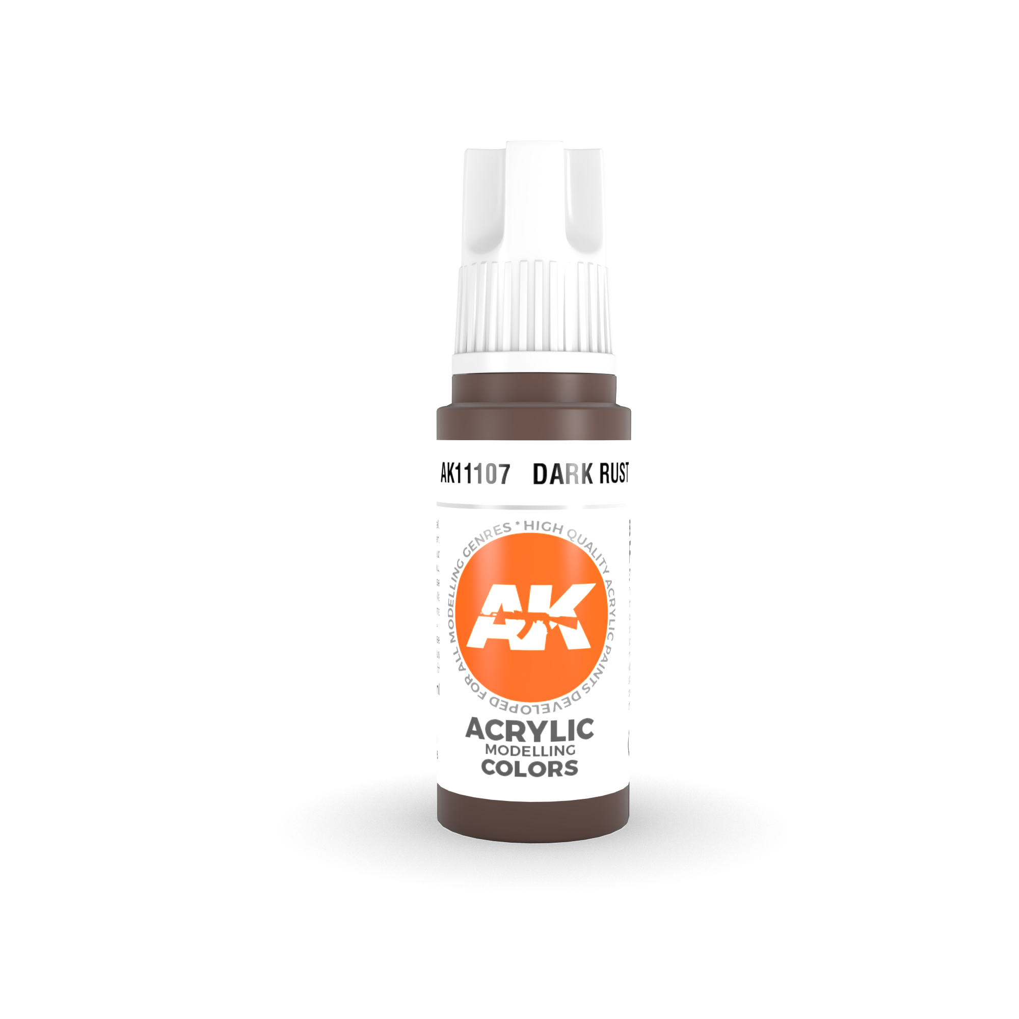 AK Interactive 3rd Gen Acrylic Dark Rust 17ml