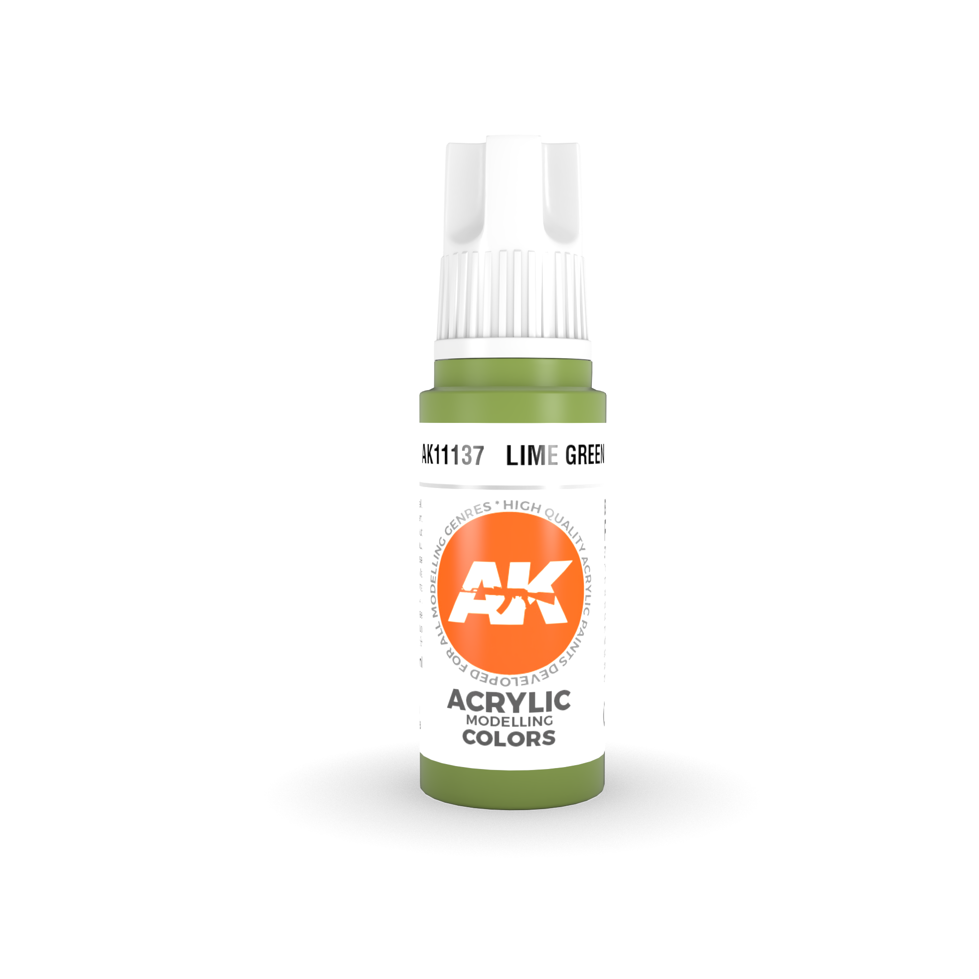 AK Interactive 3rd Gen Acrylic Lime Green 17ml