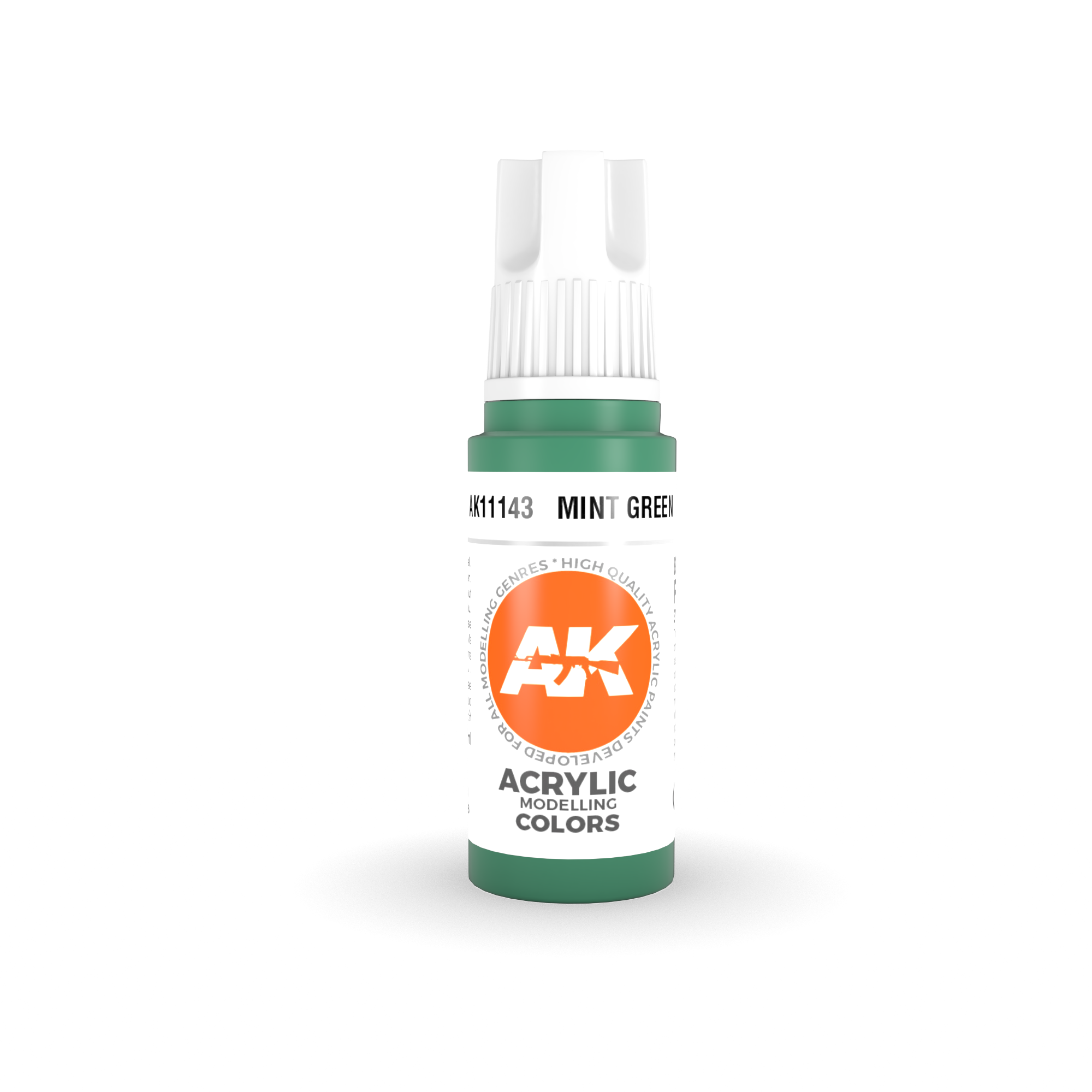 AK Interactive 3rd Gen Acrylic Mint Green 17ml