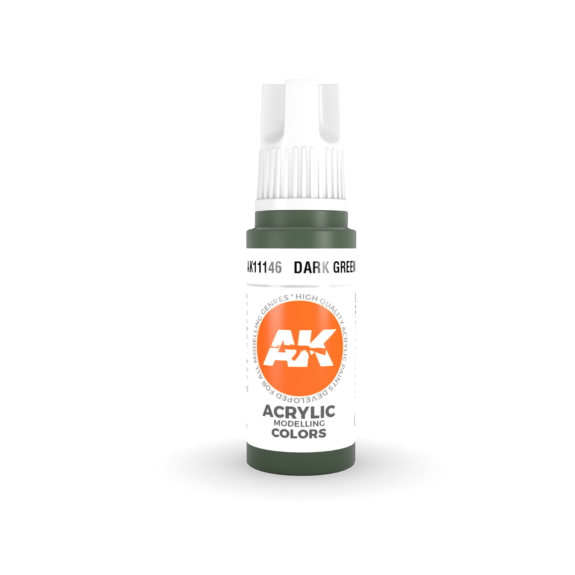 AK Interactive 3rd Gen Acrylic Dark Green 17ml