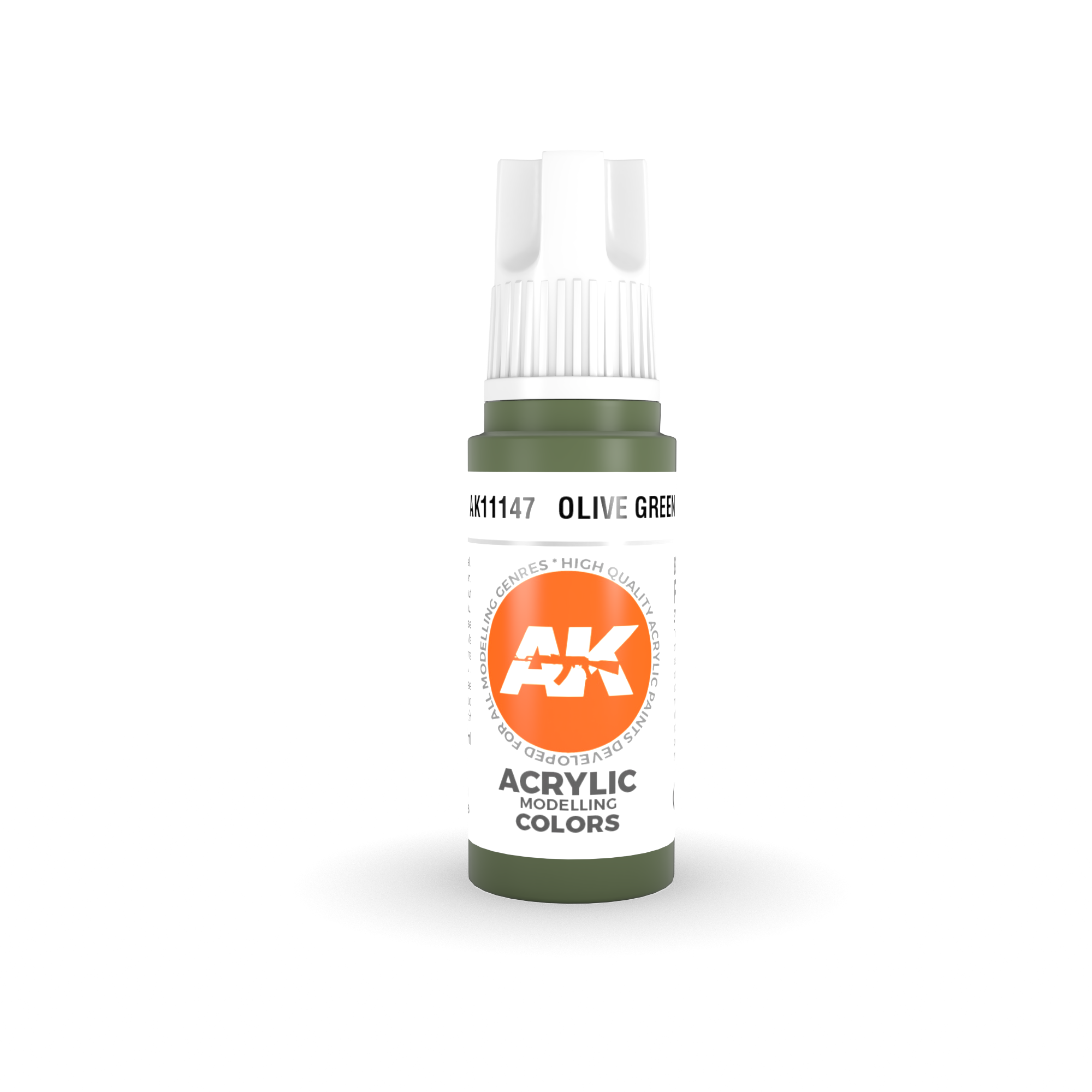 AK Interactive 3rd Gen Acrylic Olive Green 17ml