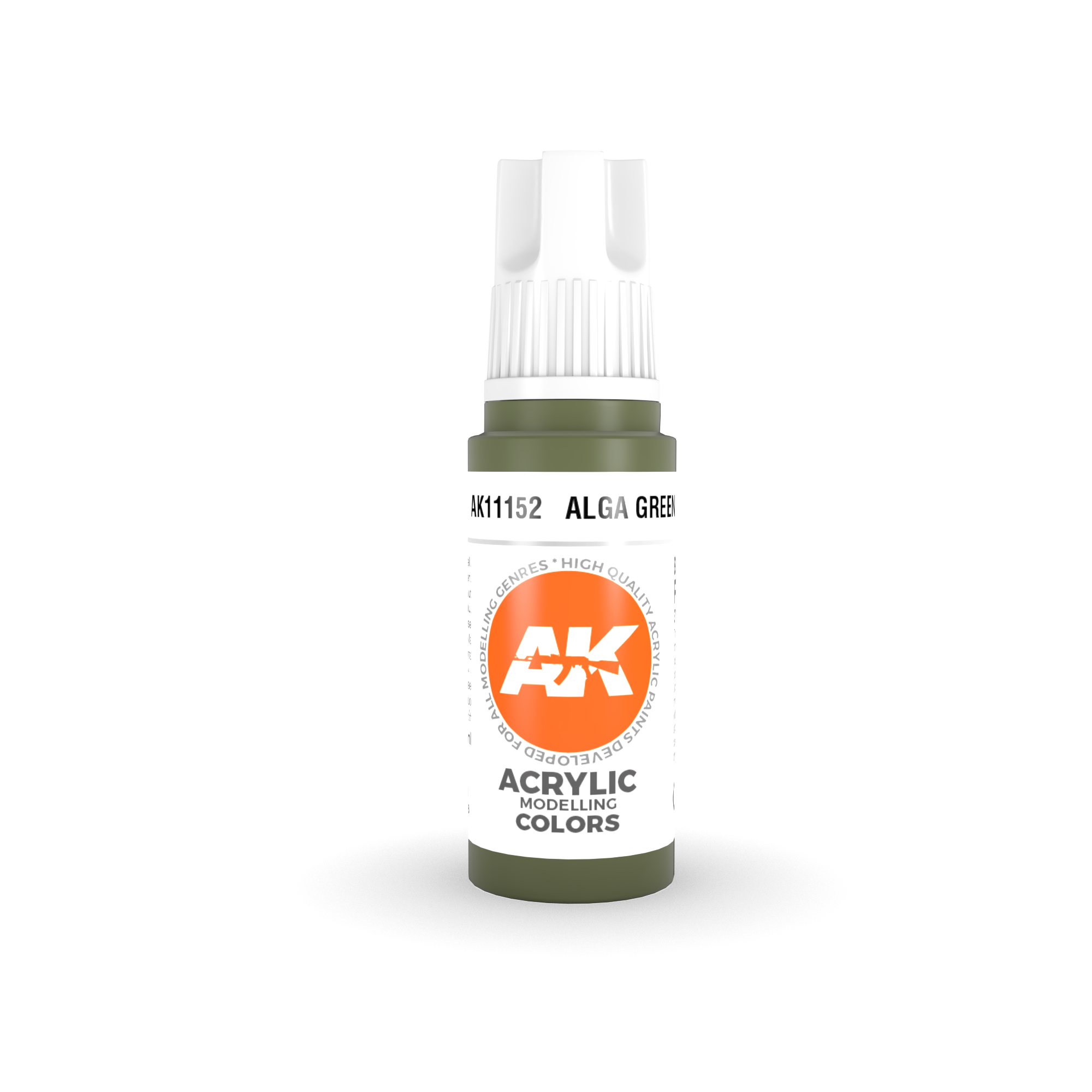 AK Interactive 3rd Gen Acrylic Alga Green 17ml