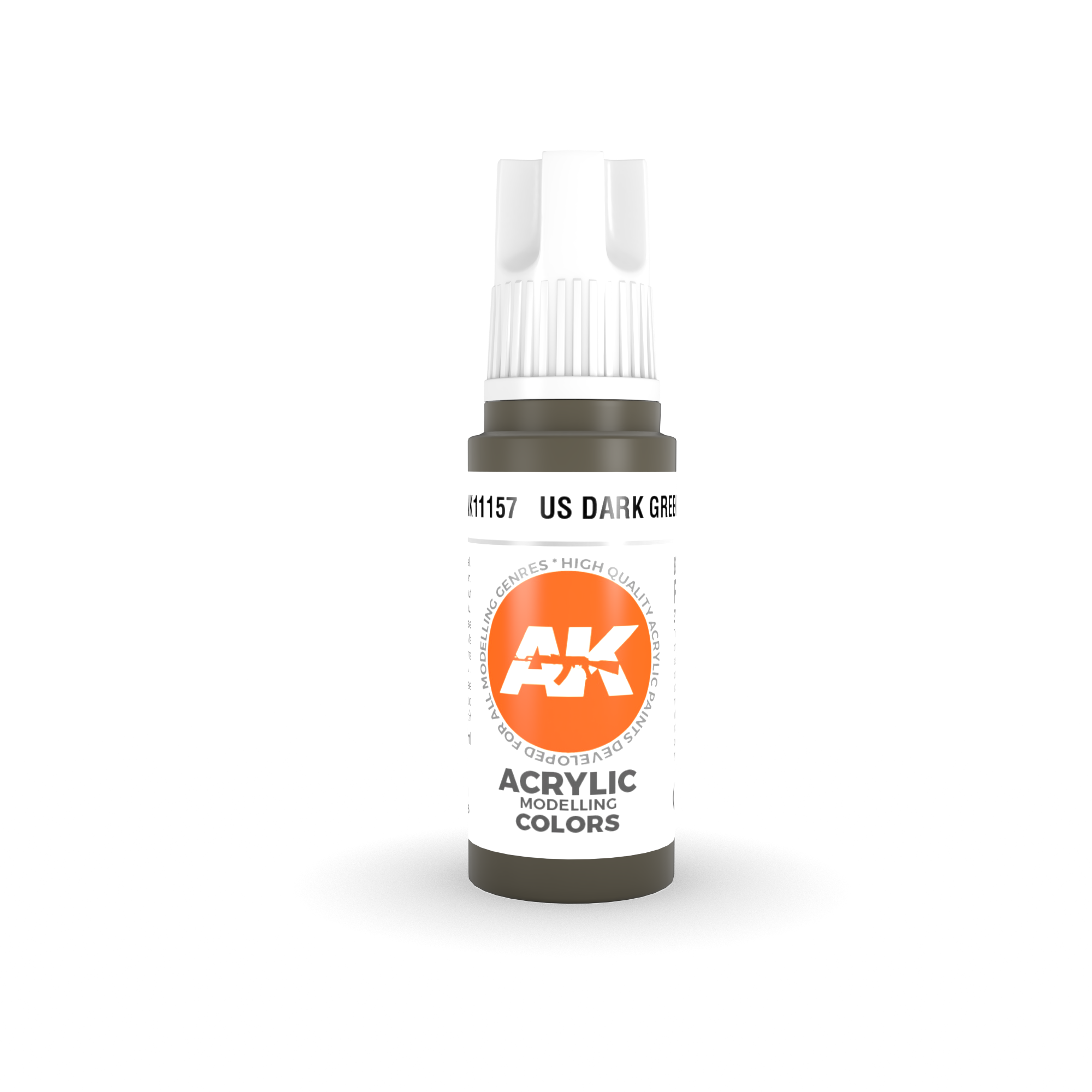 AK Interactive 3rd Gen Acrylic US Dark Green 17ml