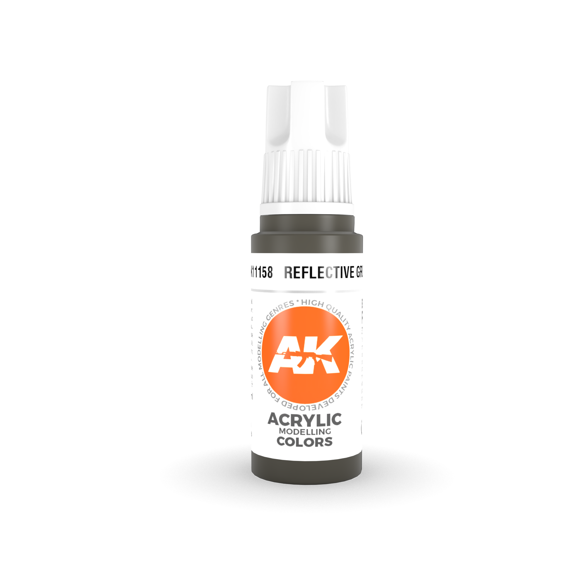 AK Interactive 3rd Gen Acrylic Reflective Green 17ml
