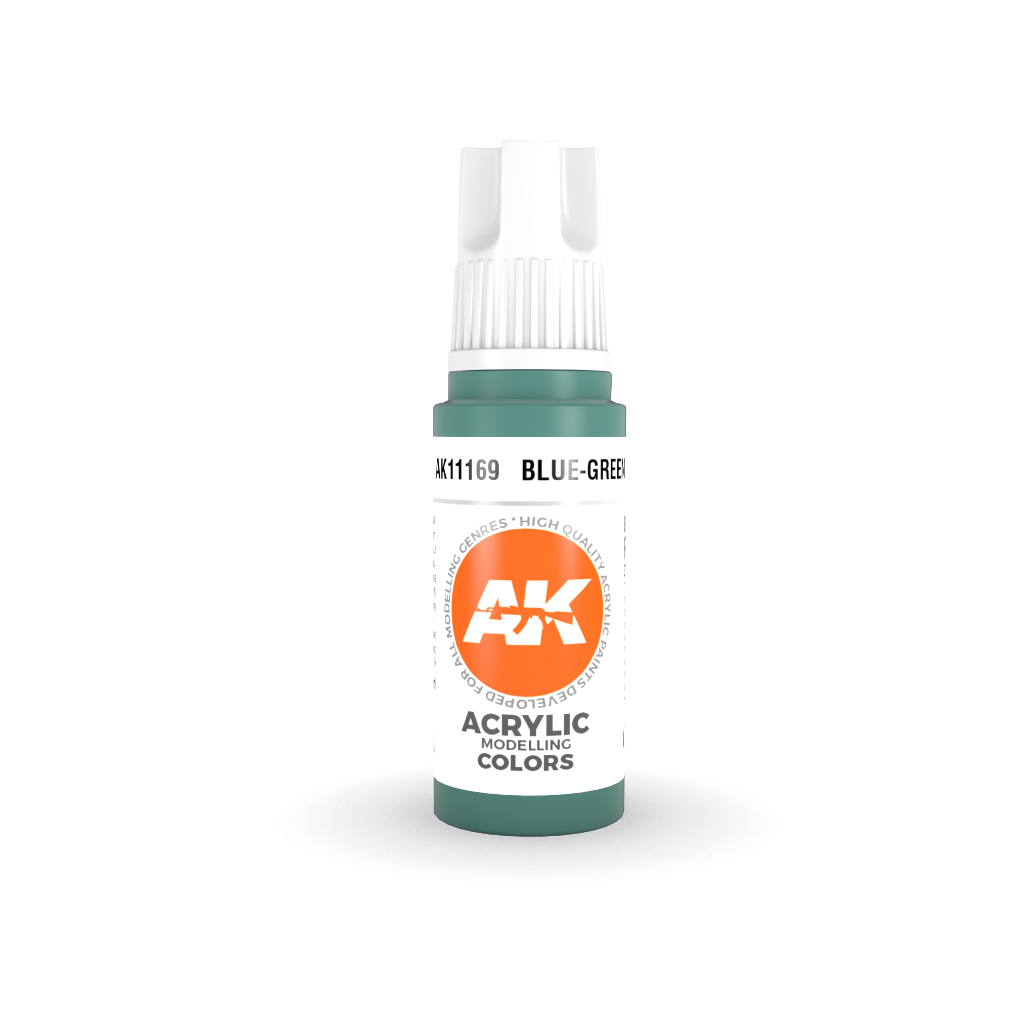 AK Interactive 3rd Gen Acrylic Blue-Green 17ml