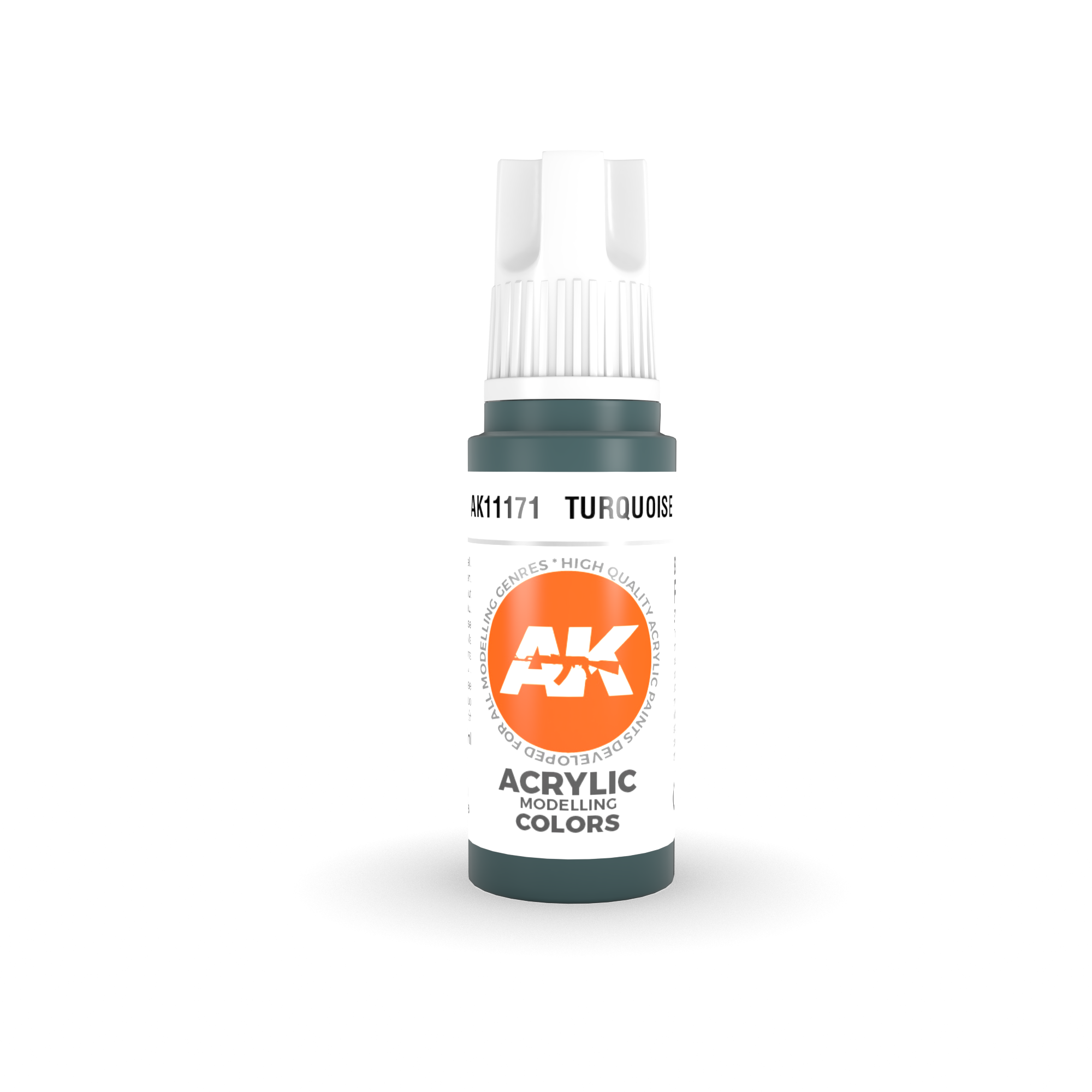AK Interactive 3rd Gen Acrylic Turquoise 17ml