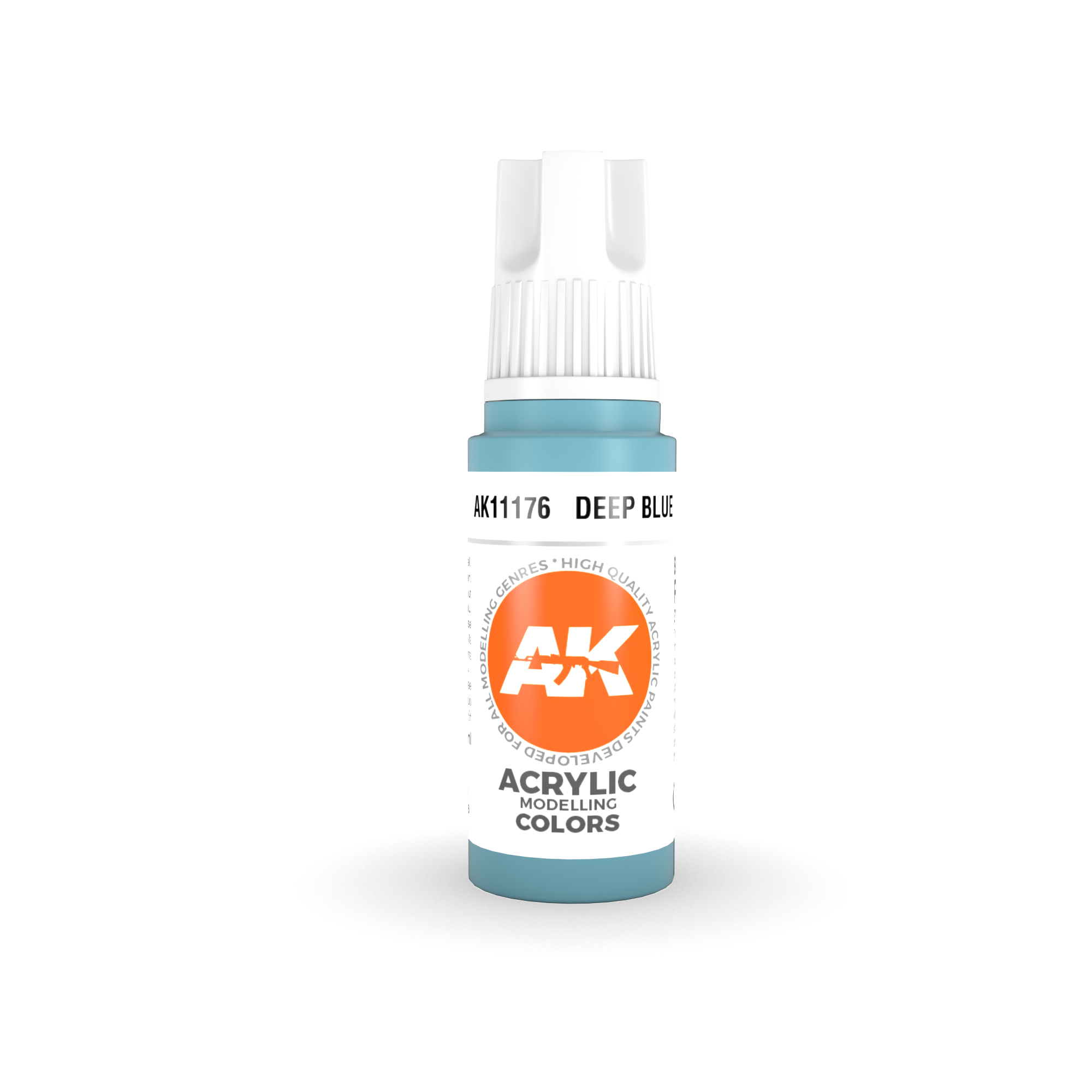 AK Interactive 3rd Gen Acrylic Deep Sky Blue 17ml
