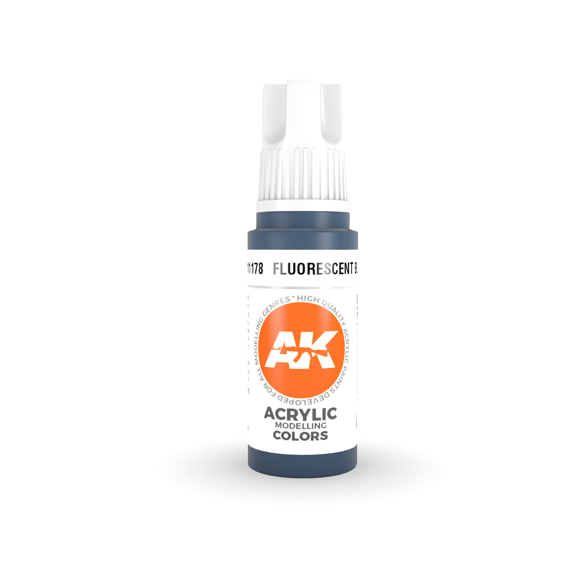 AK Interactive 3rd Gen Acrylic Fluorescent Blue 17ml