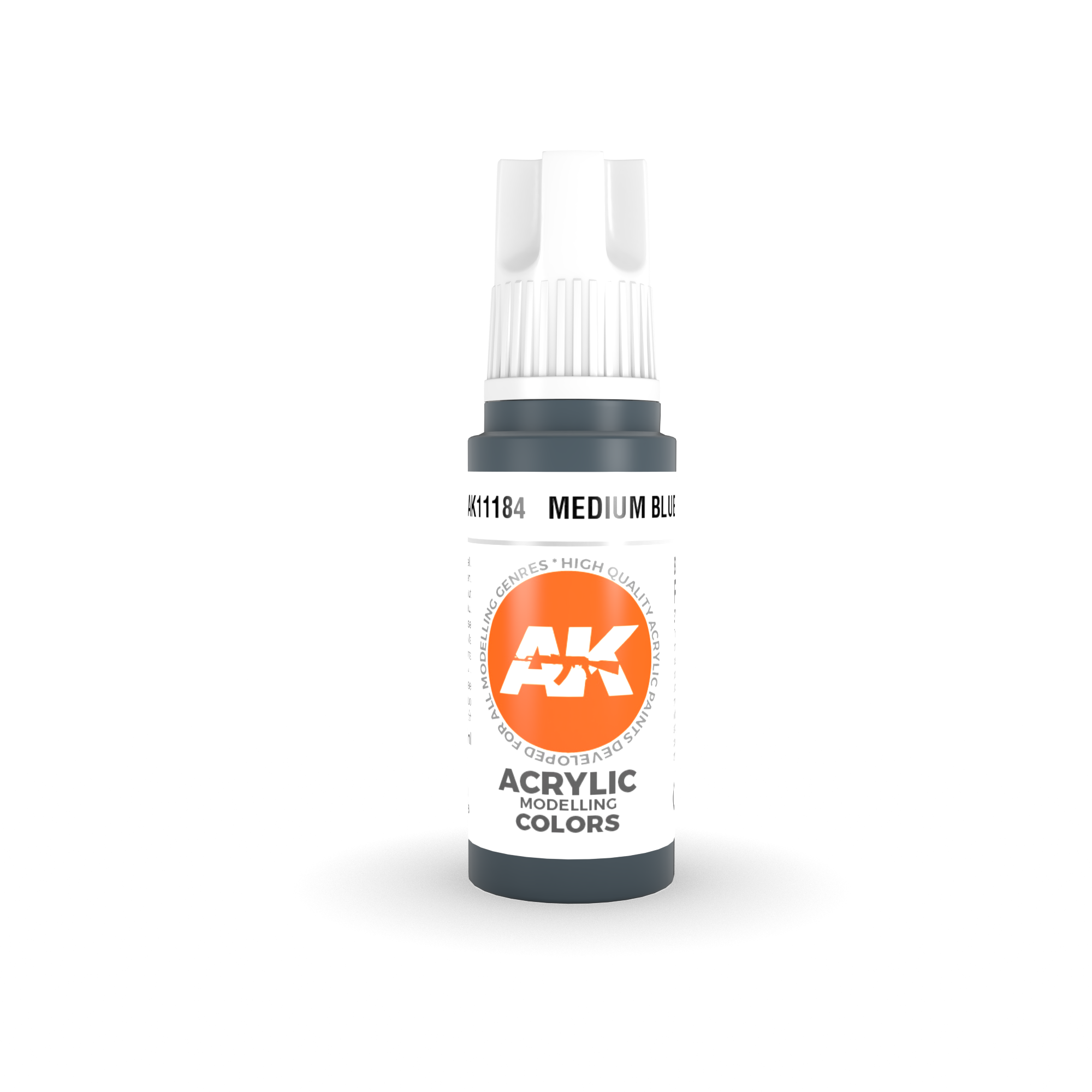 AK Interactive 3rd Gen Acrylic Medium Blue 17ml