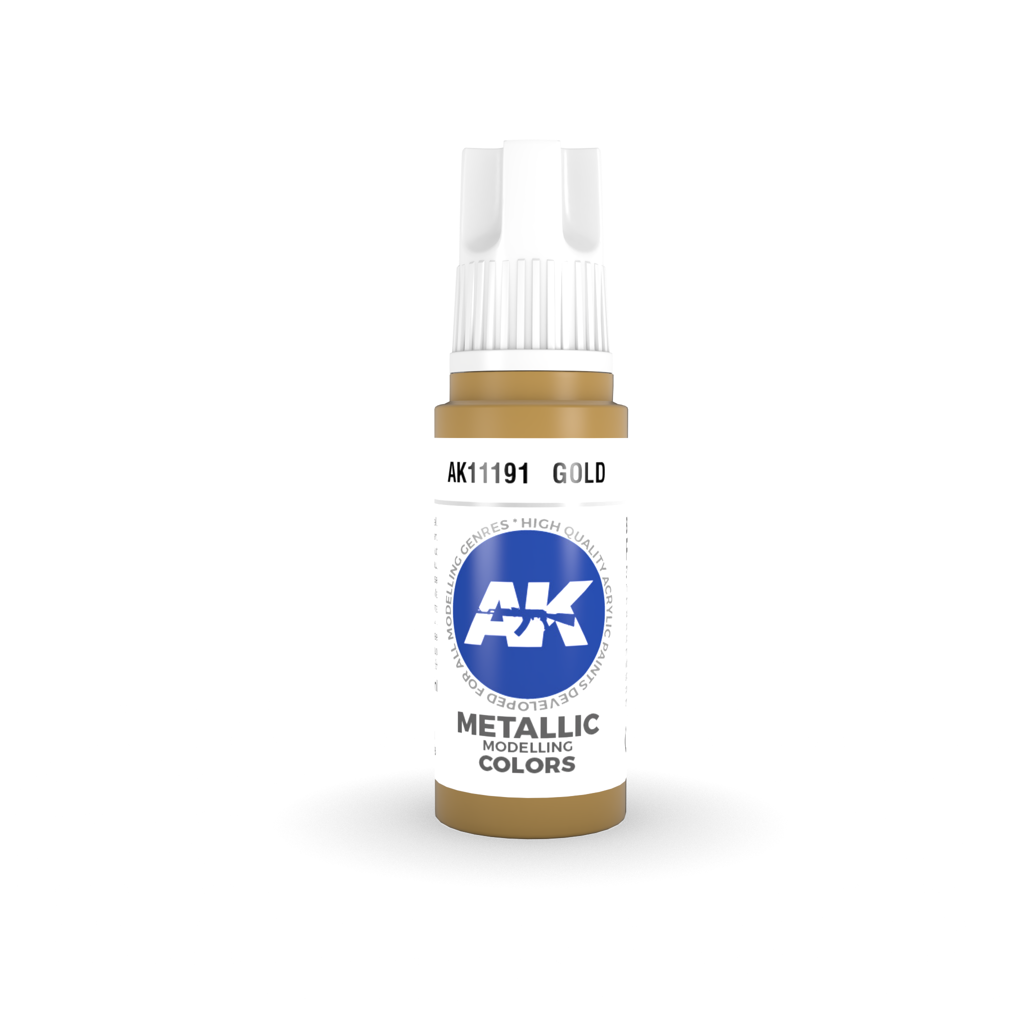 AK Interactive 3rd Gen Acrylic Gold 17ml