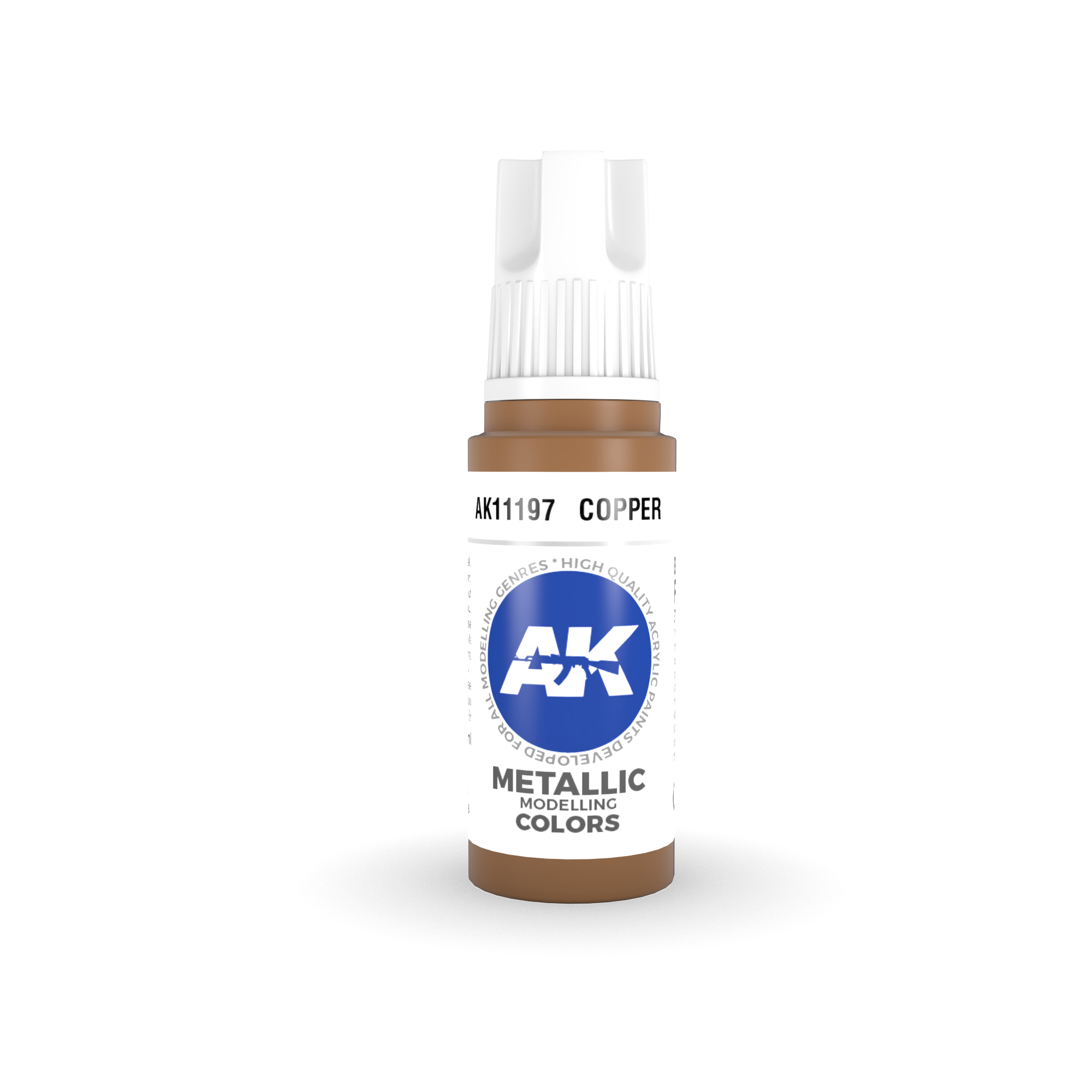 AK Interactive 3rd Gen Acrylic Copper 17ml
