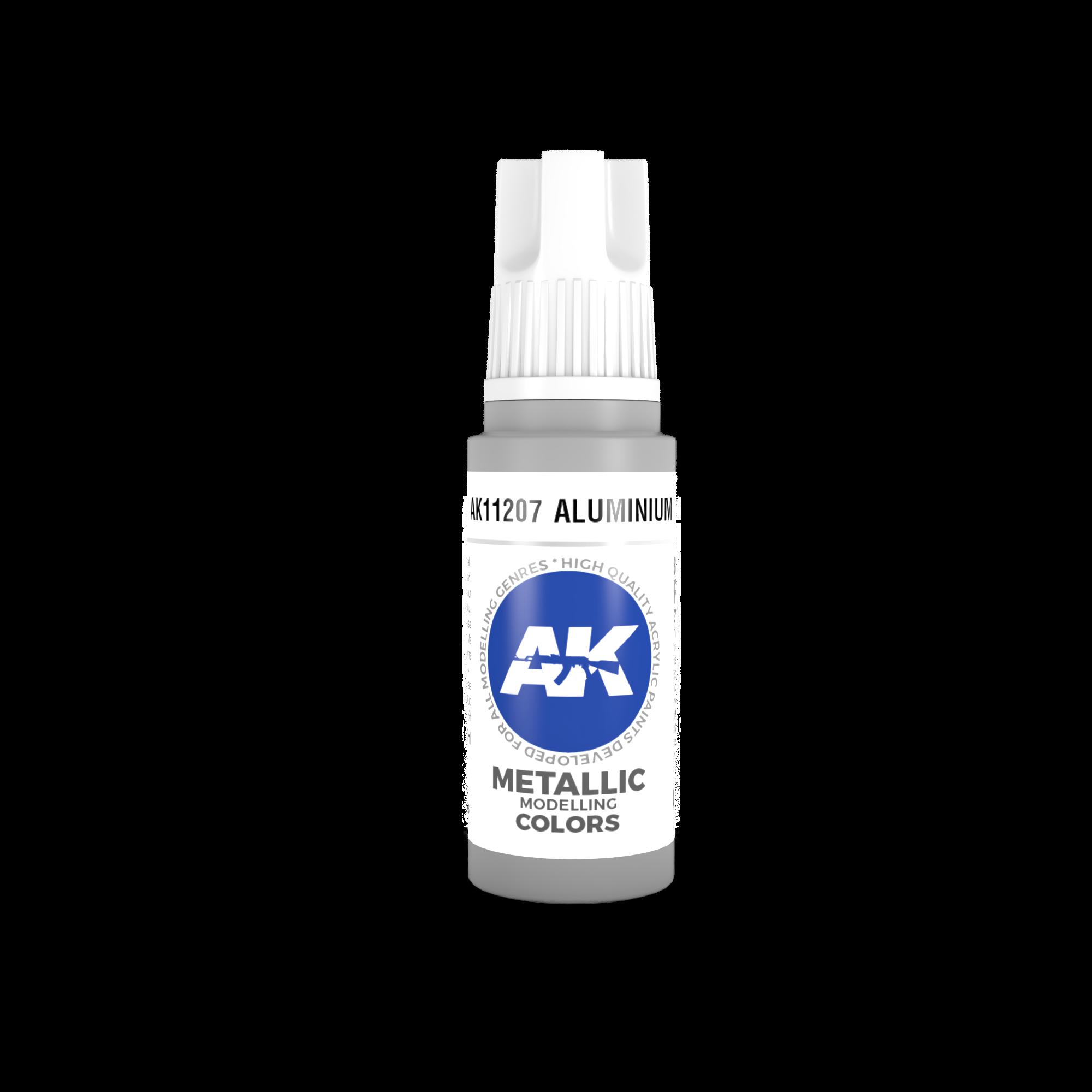 AK Interactive 3rd Gen Acrylic Aluminium 17ml