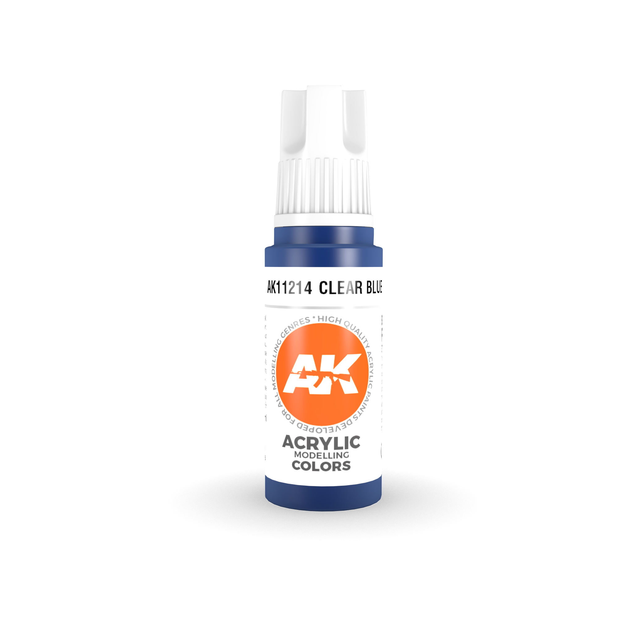 AK Interactive 3rd Gen Acrylic Clear Blue 17ml