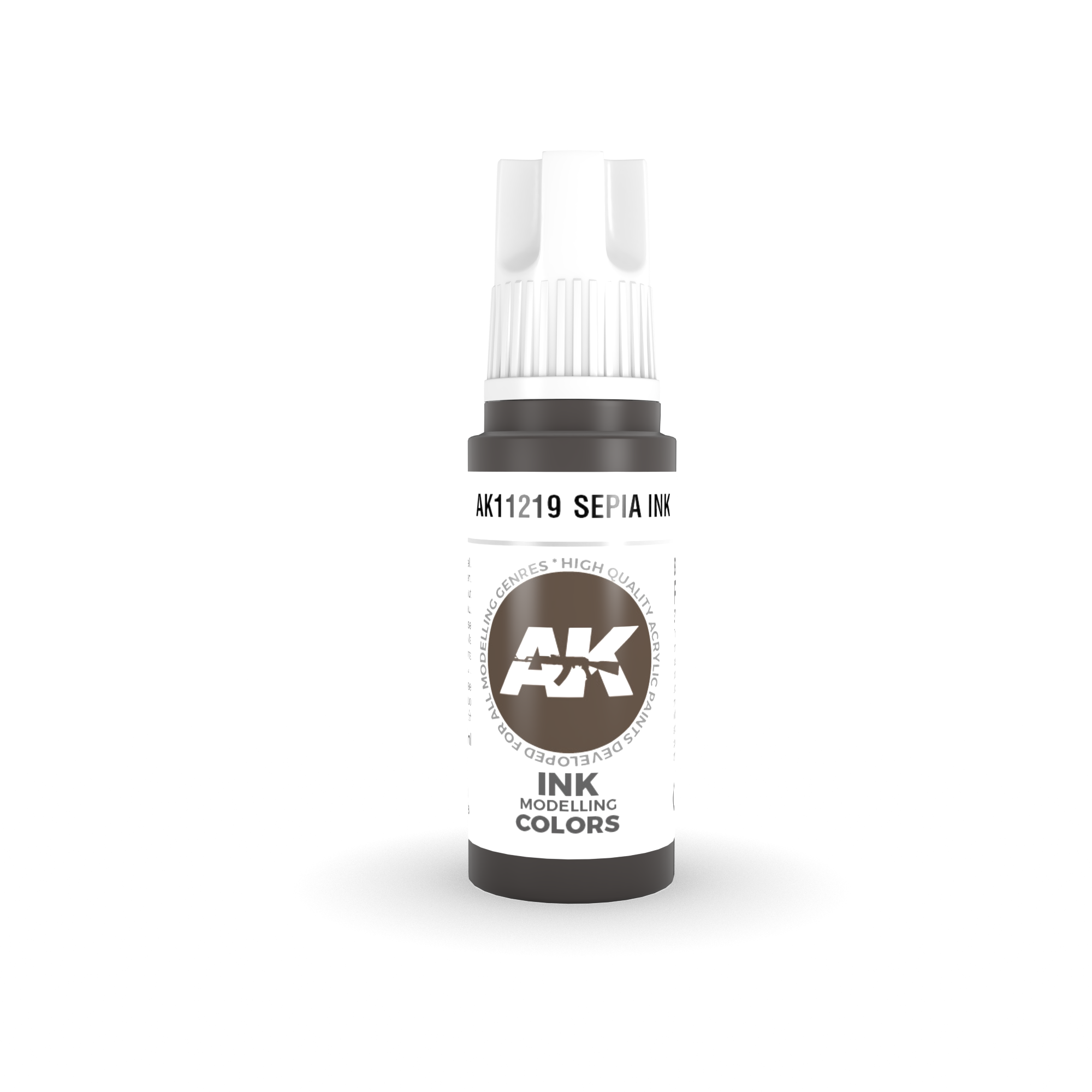 AK Interactive 3rd Gen Acrylic Sepia INK 17ml