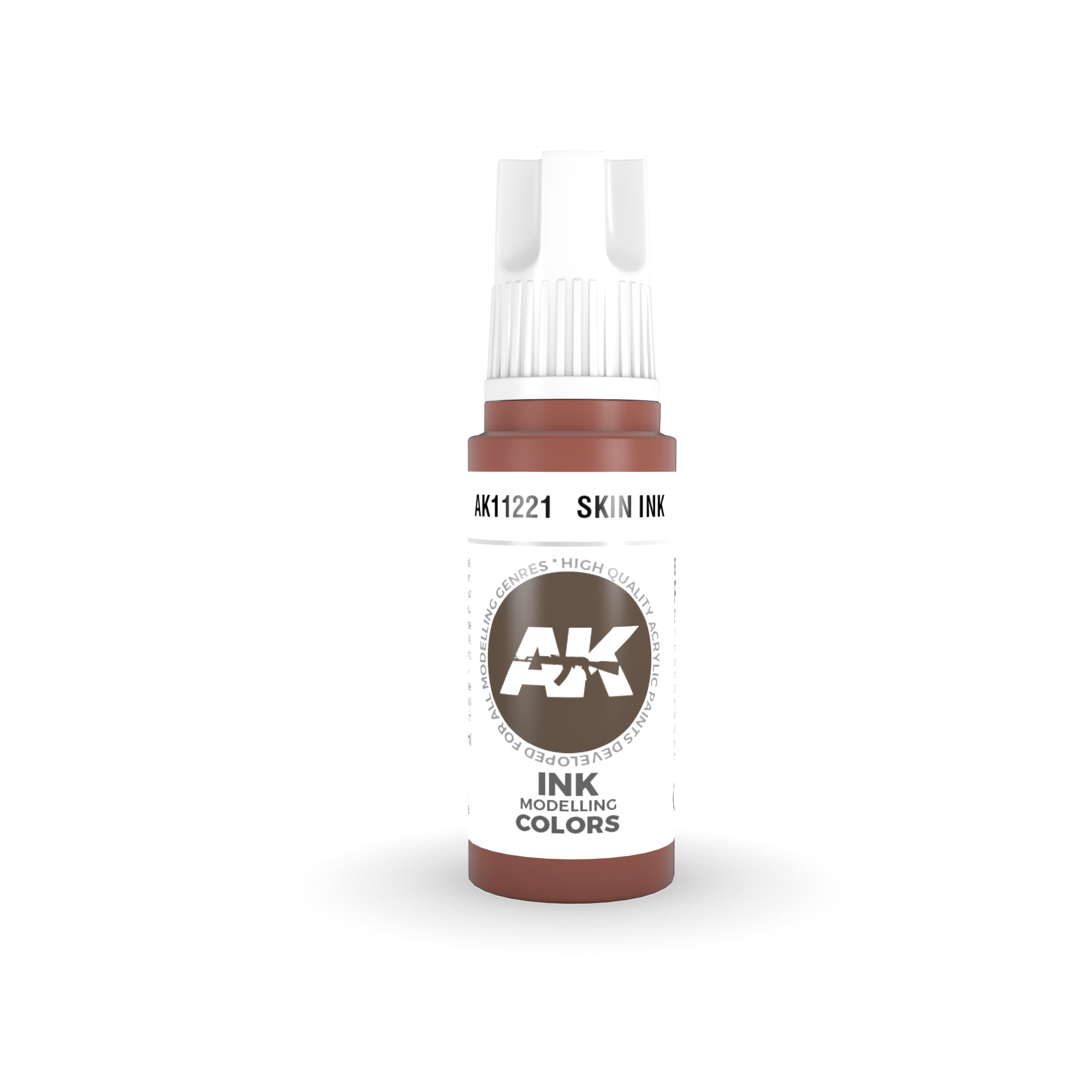 AK Interactive 3rd Gen Acrylic Skin INK 17ml