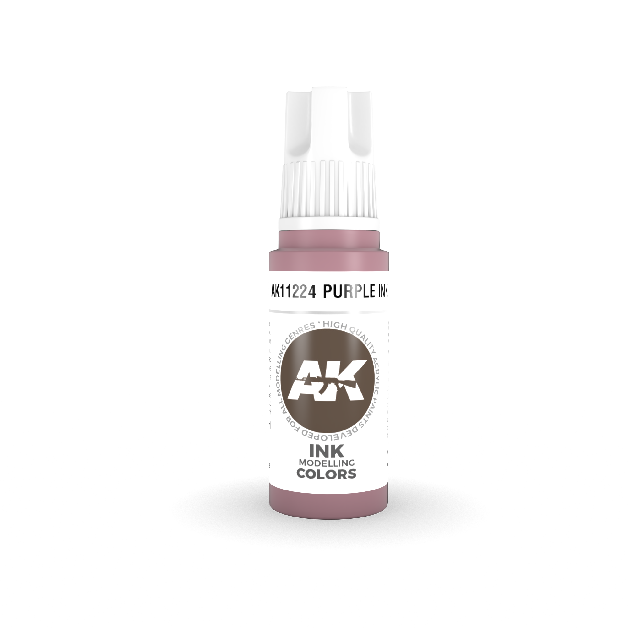 AK Interactive 3rd Gen Acrylic Purple INK 17ml