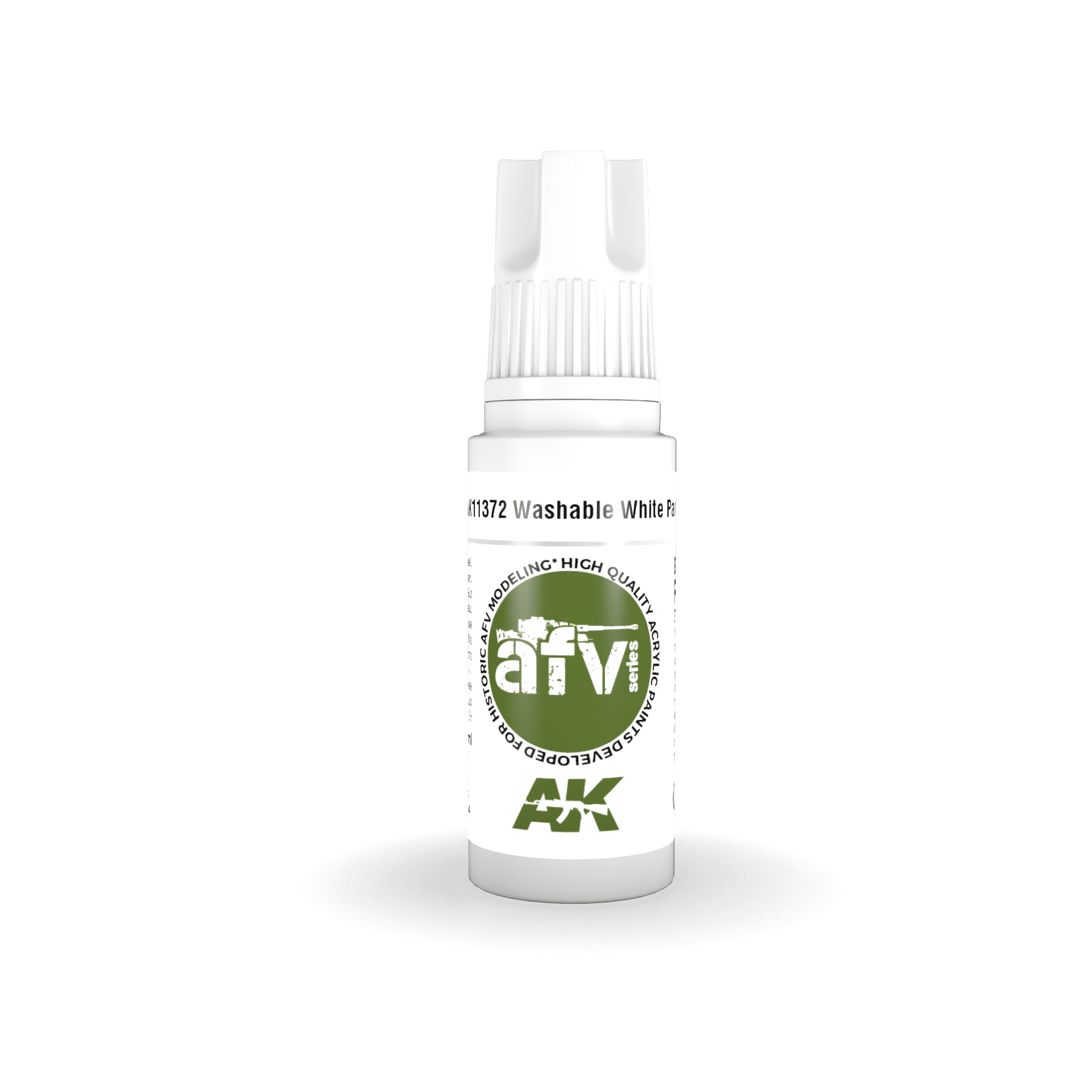 AK Interactive 3G Washable White Paint