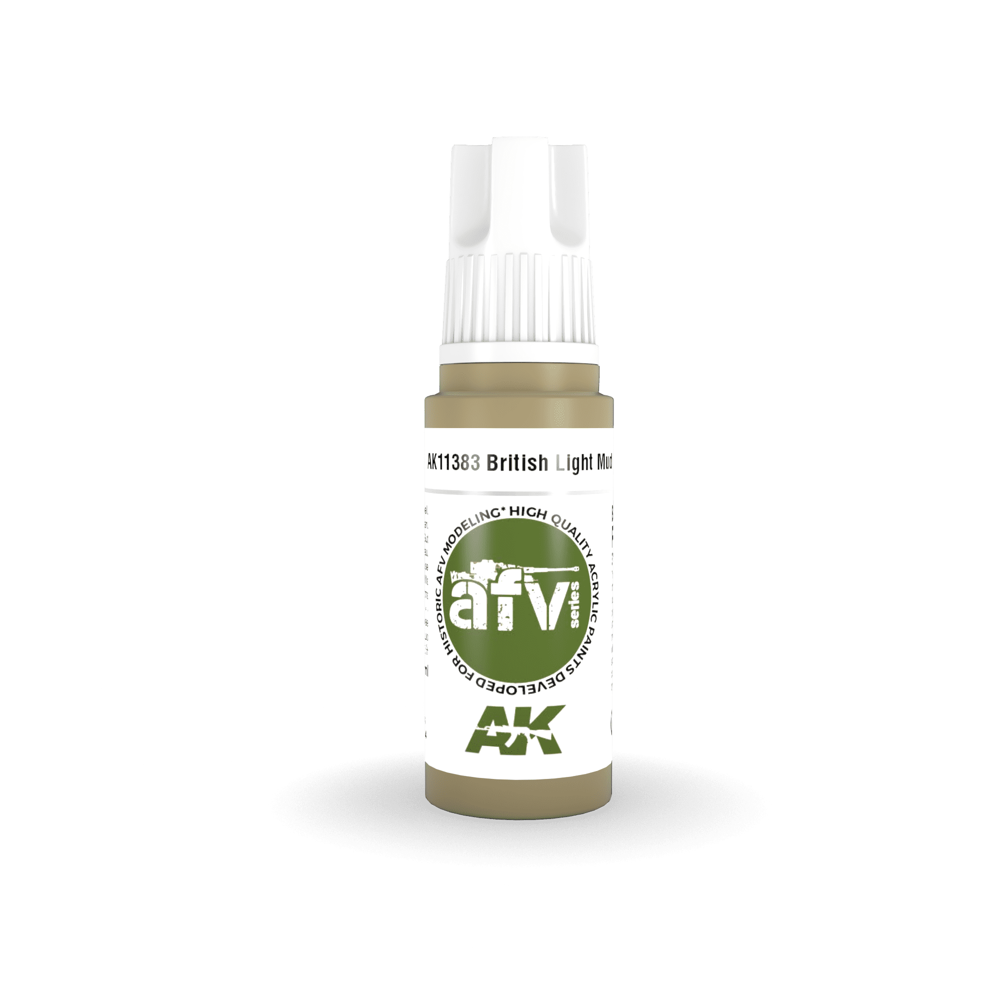 AK Interactive 3G British Light Mud
