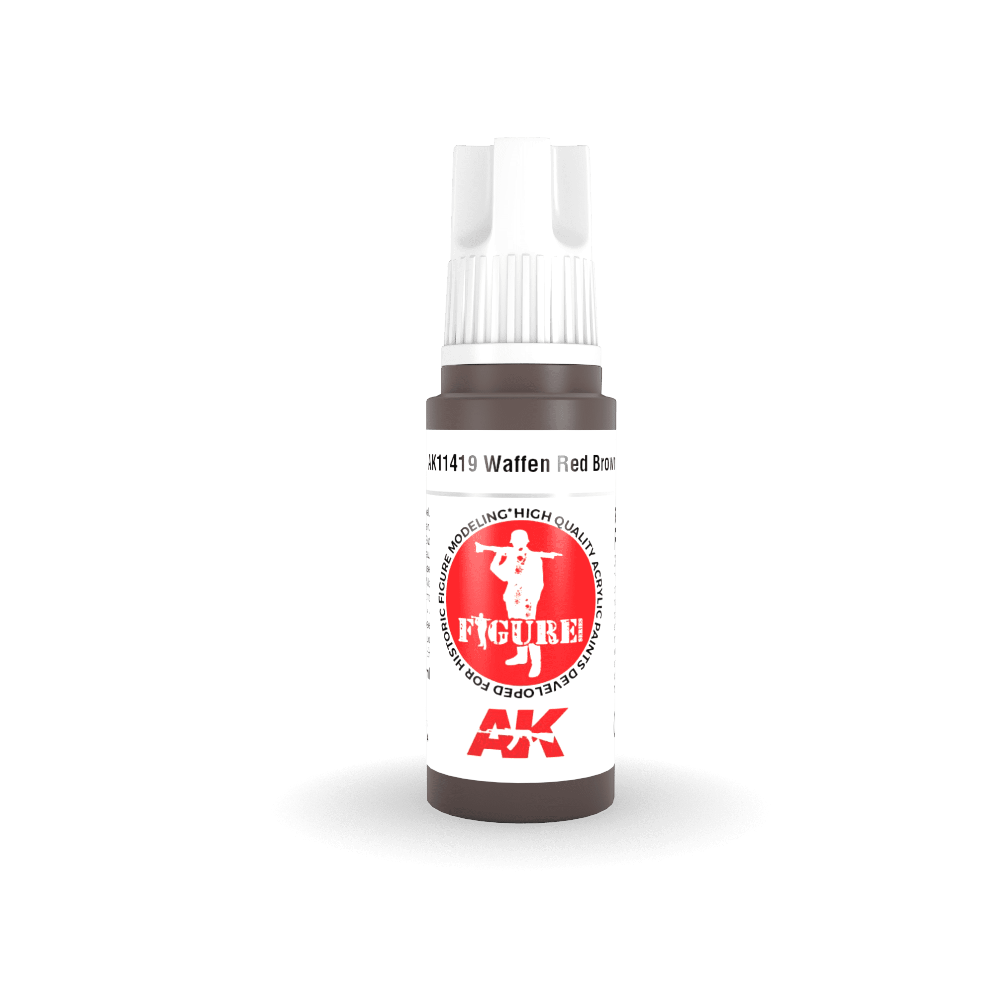 AK Interactive 3G Waffen Red Brown