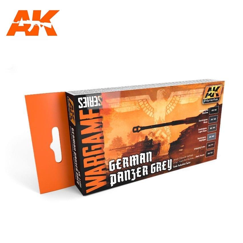 AK Interactive German Panzer Grey Colors Set