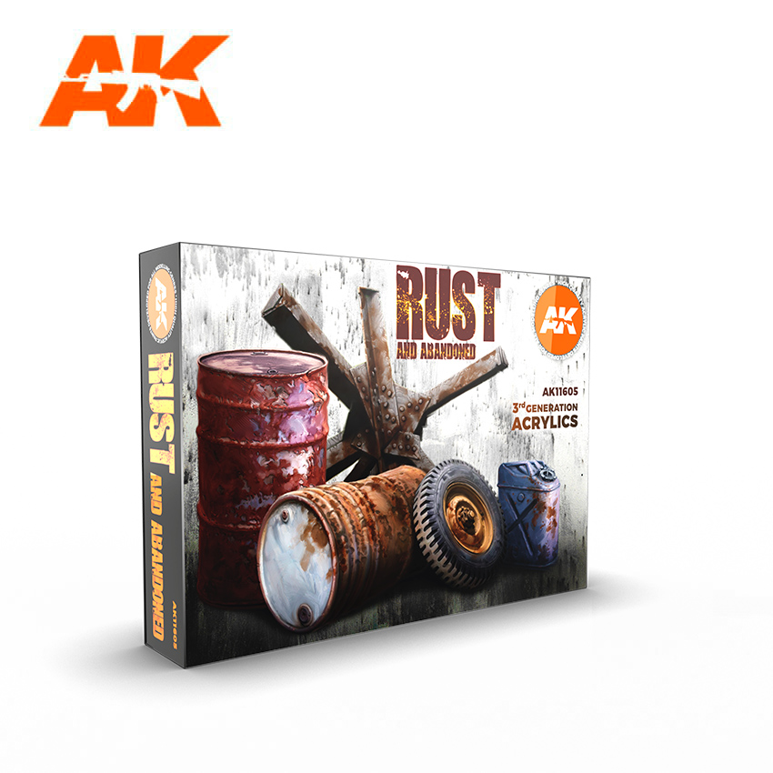 AK Interactive Rust Set