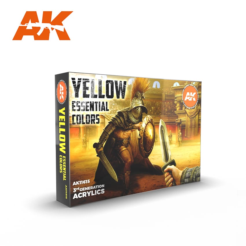 AK Interactive 3G Essential Colours - Yellow