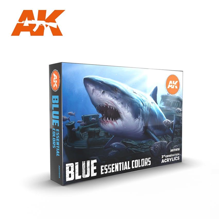 AK Interactive 3G Essential Colours - Blue