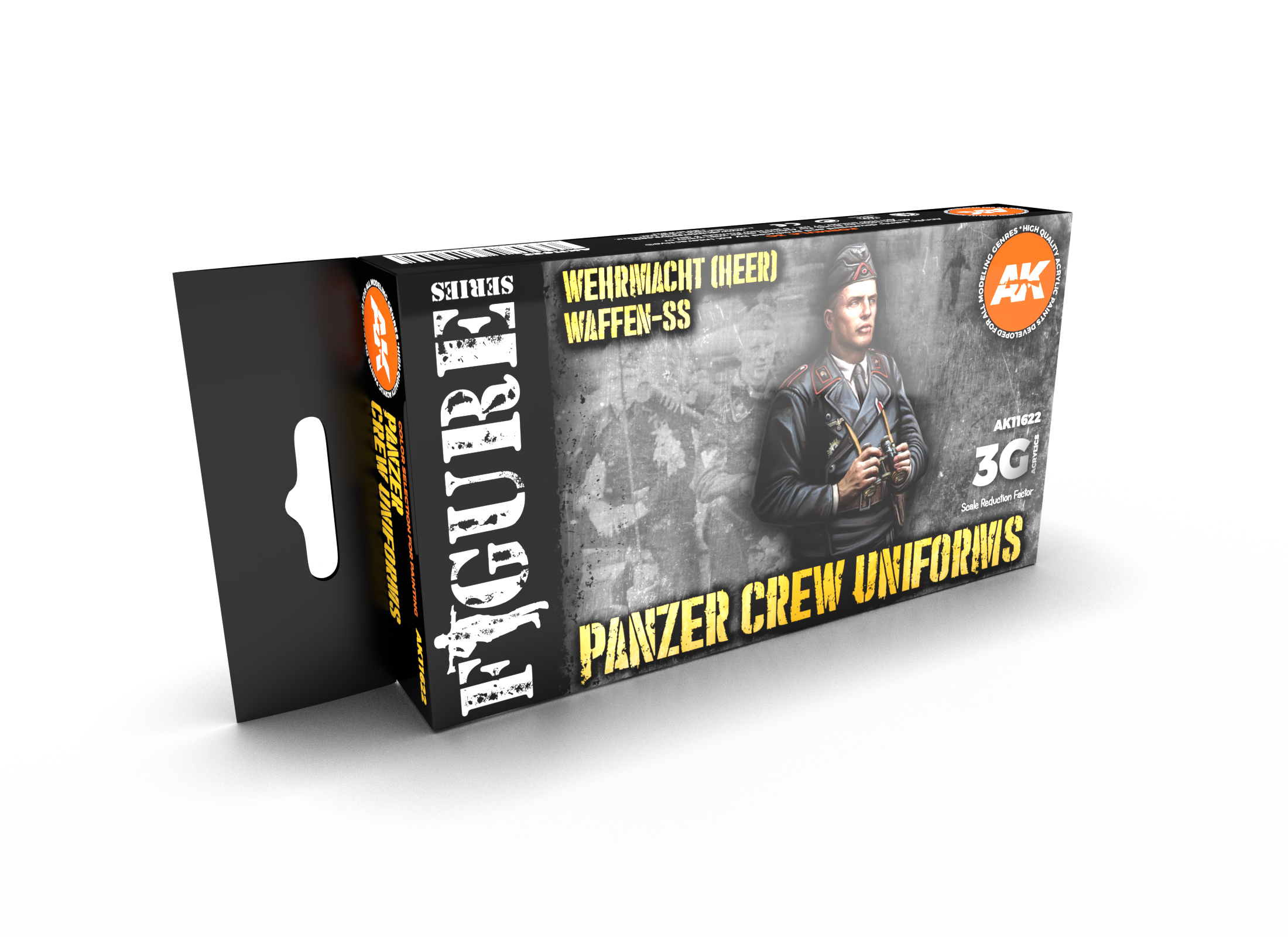 AK Interactive 3G Panzer Crew Black Uniforms Set