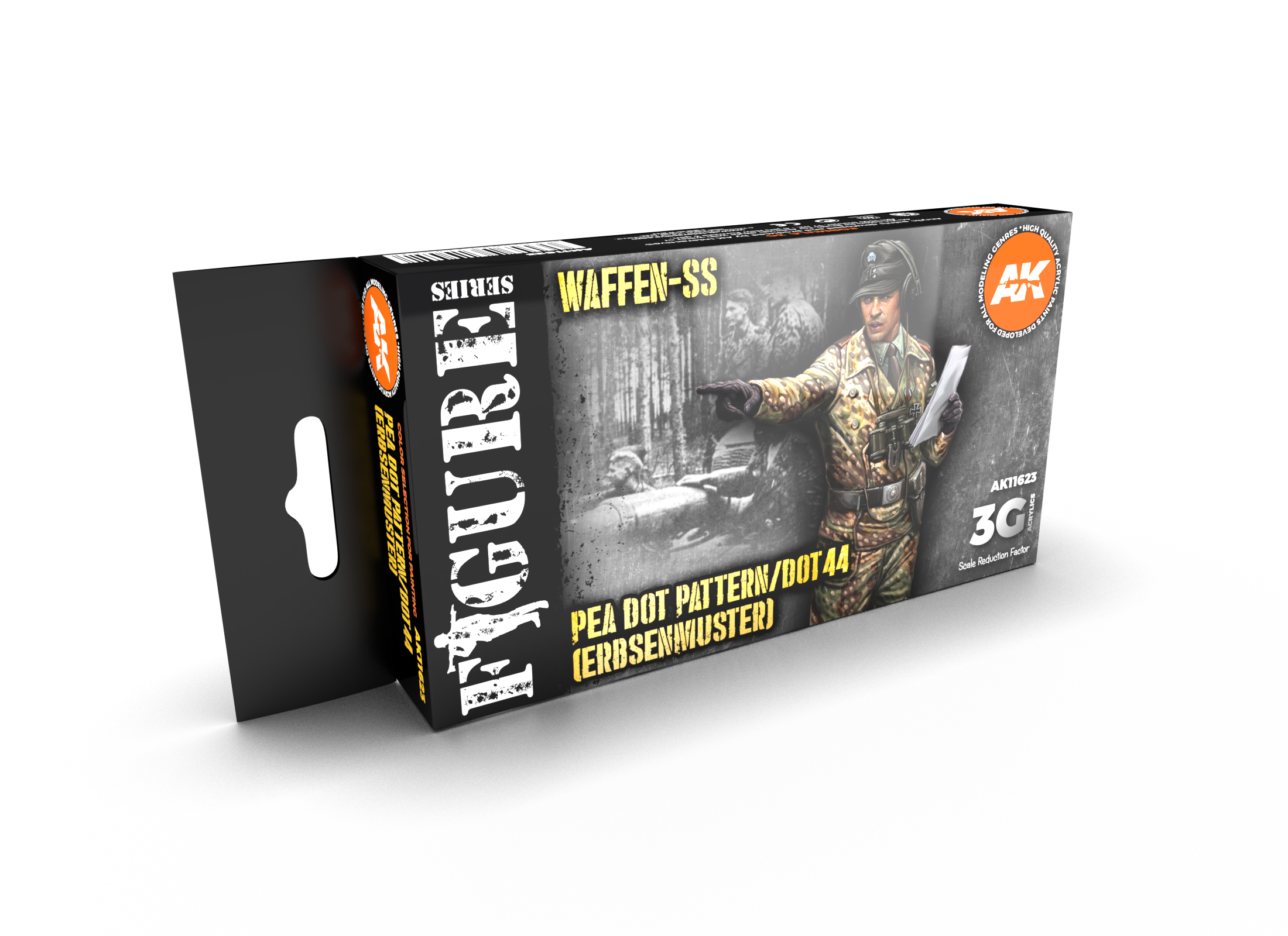 AK Interactive 3G Waffen SS 44 DOT Uniform Colors