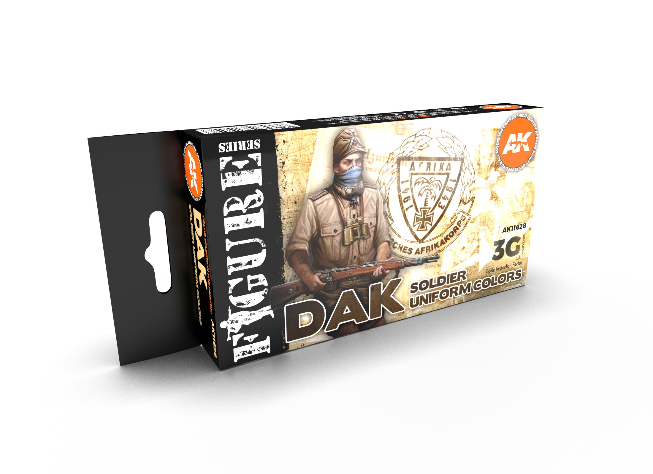AK Interactive 3G DAK Soldier Uniform Colors