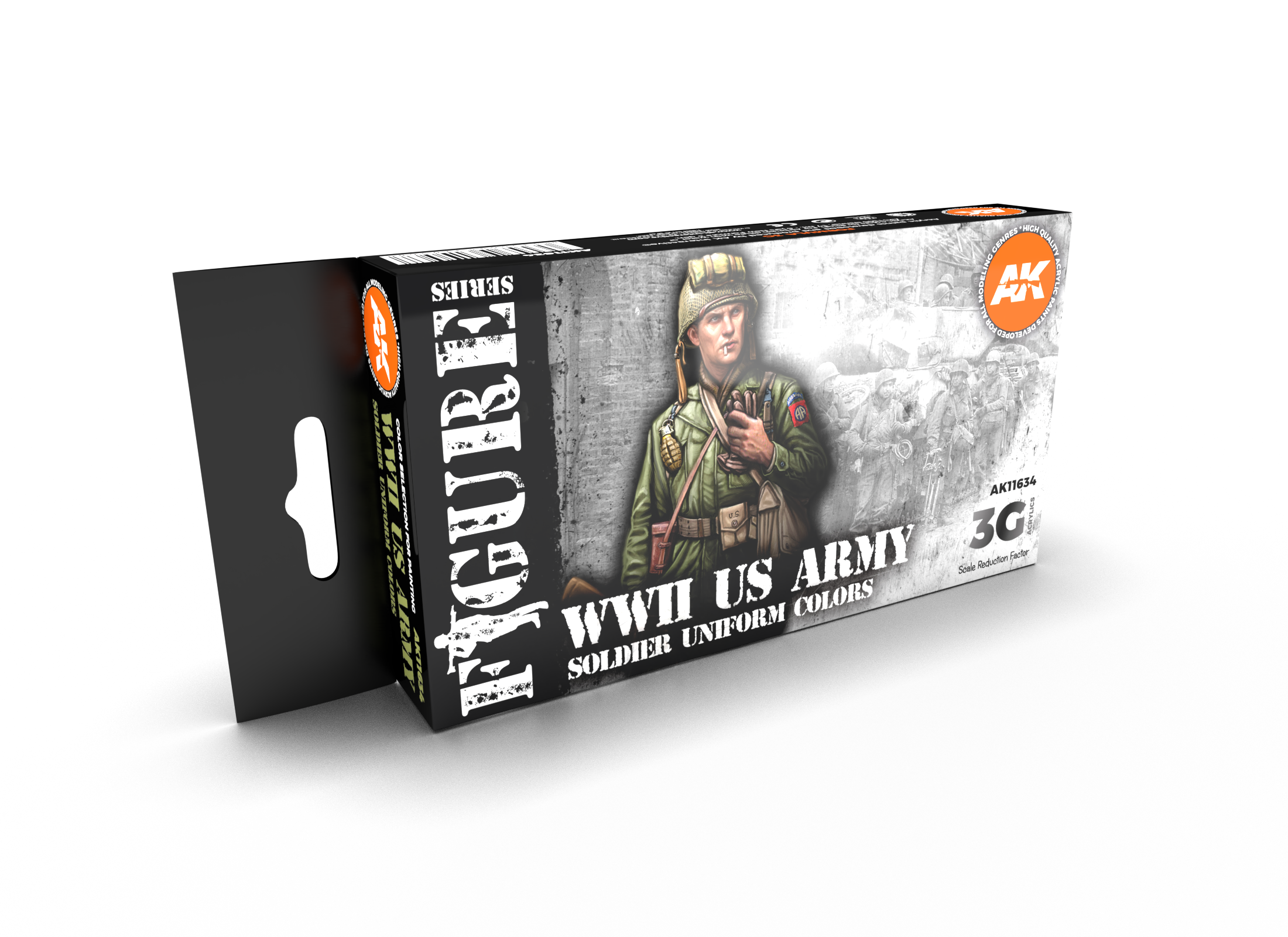 AK Interactive 3G WW2 US Uniforms