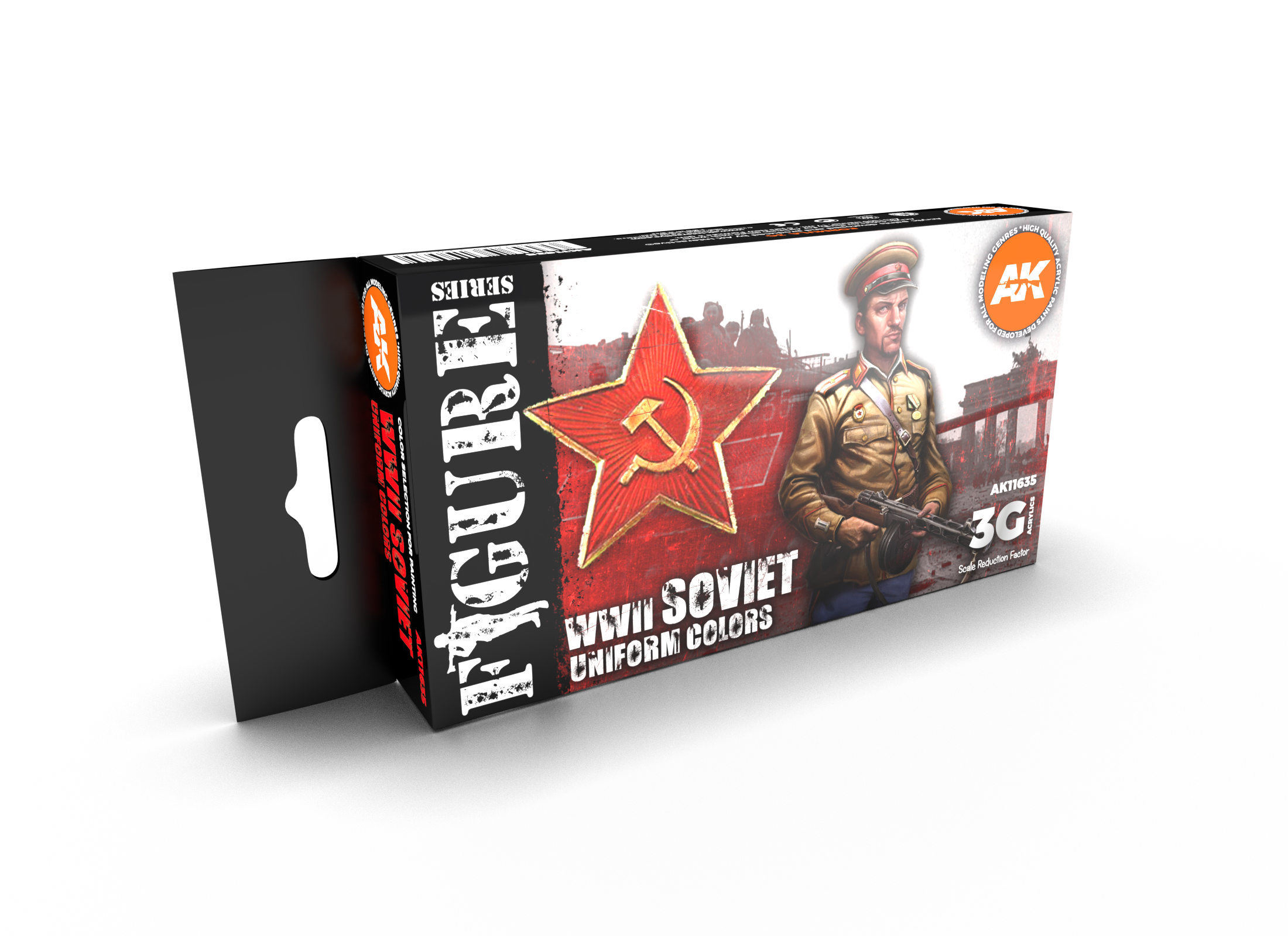 AK Interactive 3G Soviet WWII Uniform Colors