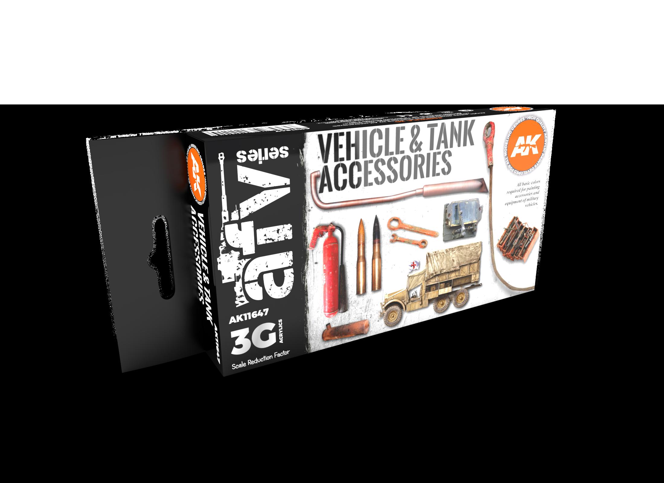 AK Interactive 3G Tank Accessories