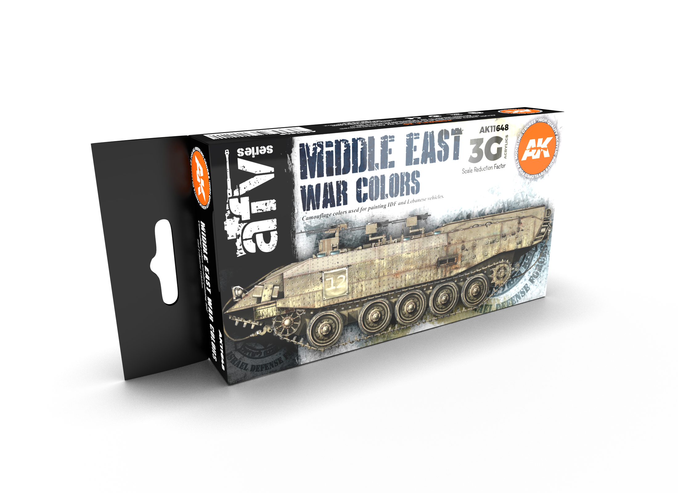 AK Interactive 3G Middle East War Colors